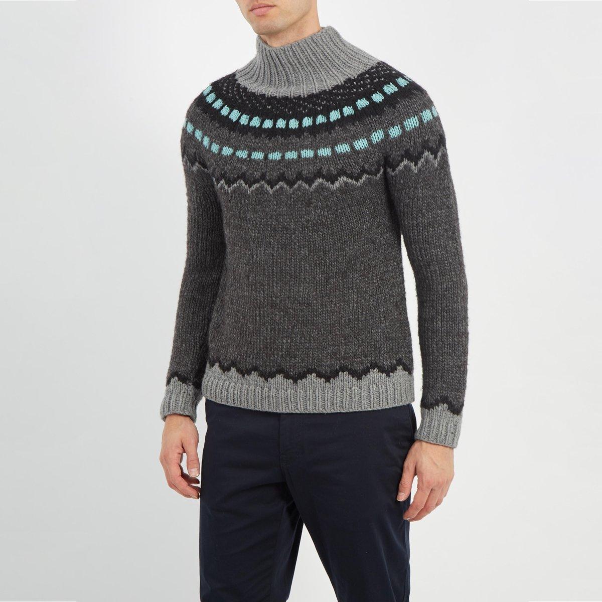 valentino-GREY-Funnel-neck-Geometric-intarsia-Sweater (3).jpg