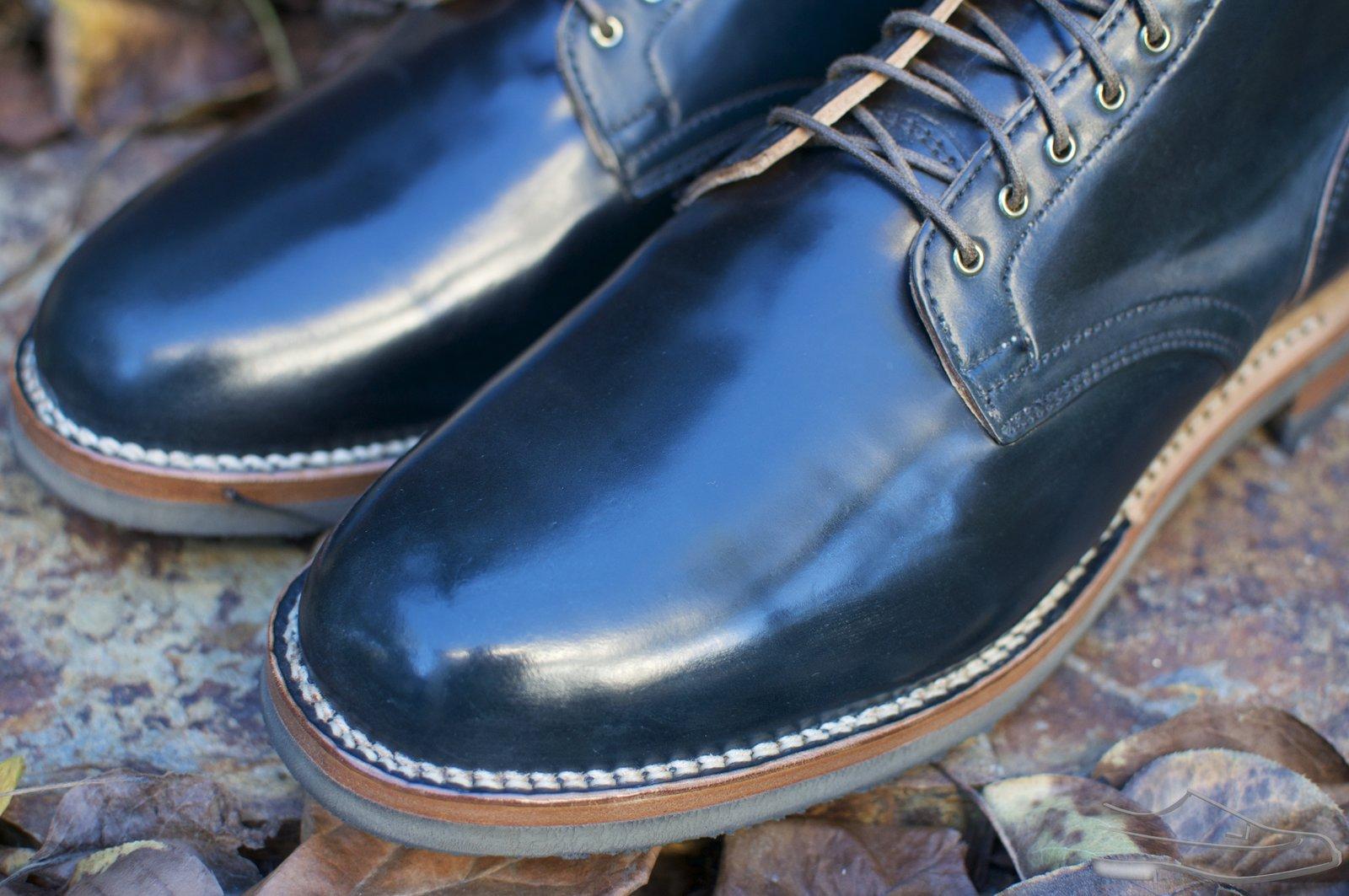 Viberg Intense Blue Shell Cordovan Service Boots - 2020-12-04 - 2.jpg