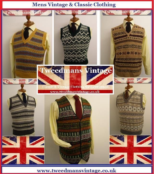 Fairisle Tank Top / Sweater Vest   Styleforum
