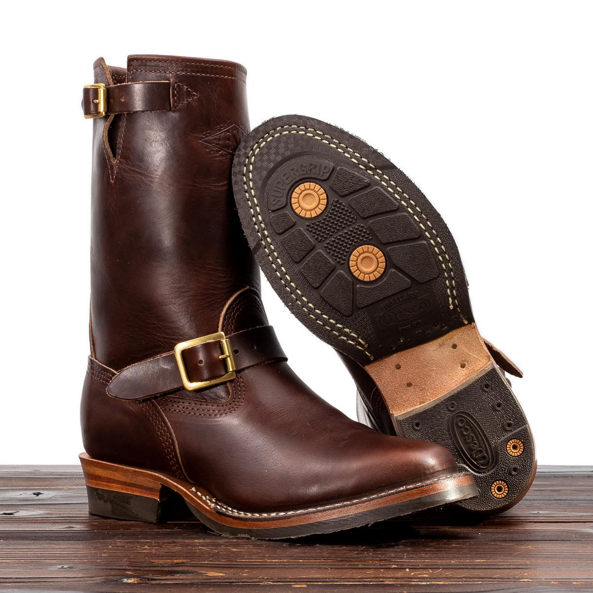wesco - Mister Lou Engineer Boot - Brown CXL-Flat-02.jpg