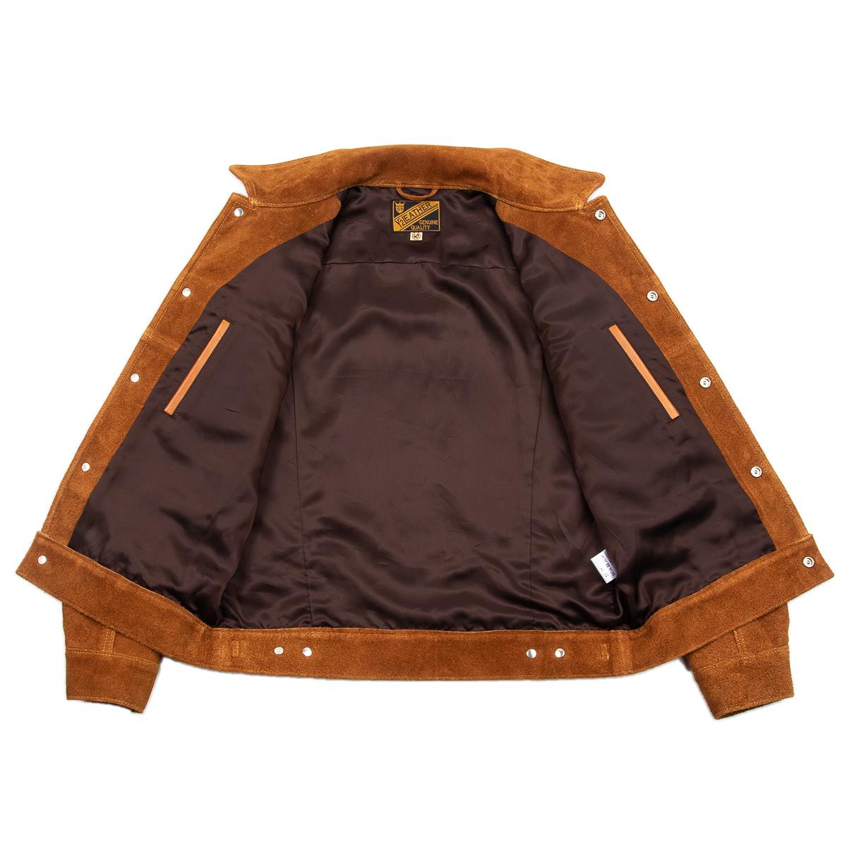 Y'2 Leather - Steer Suede 3rd Type Jacket (TB-139)-Flat-09.jpg
