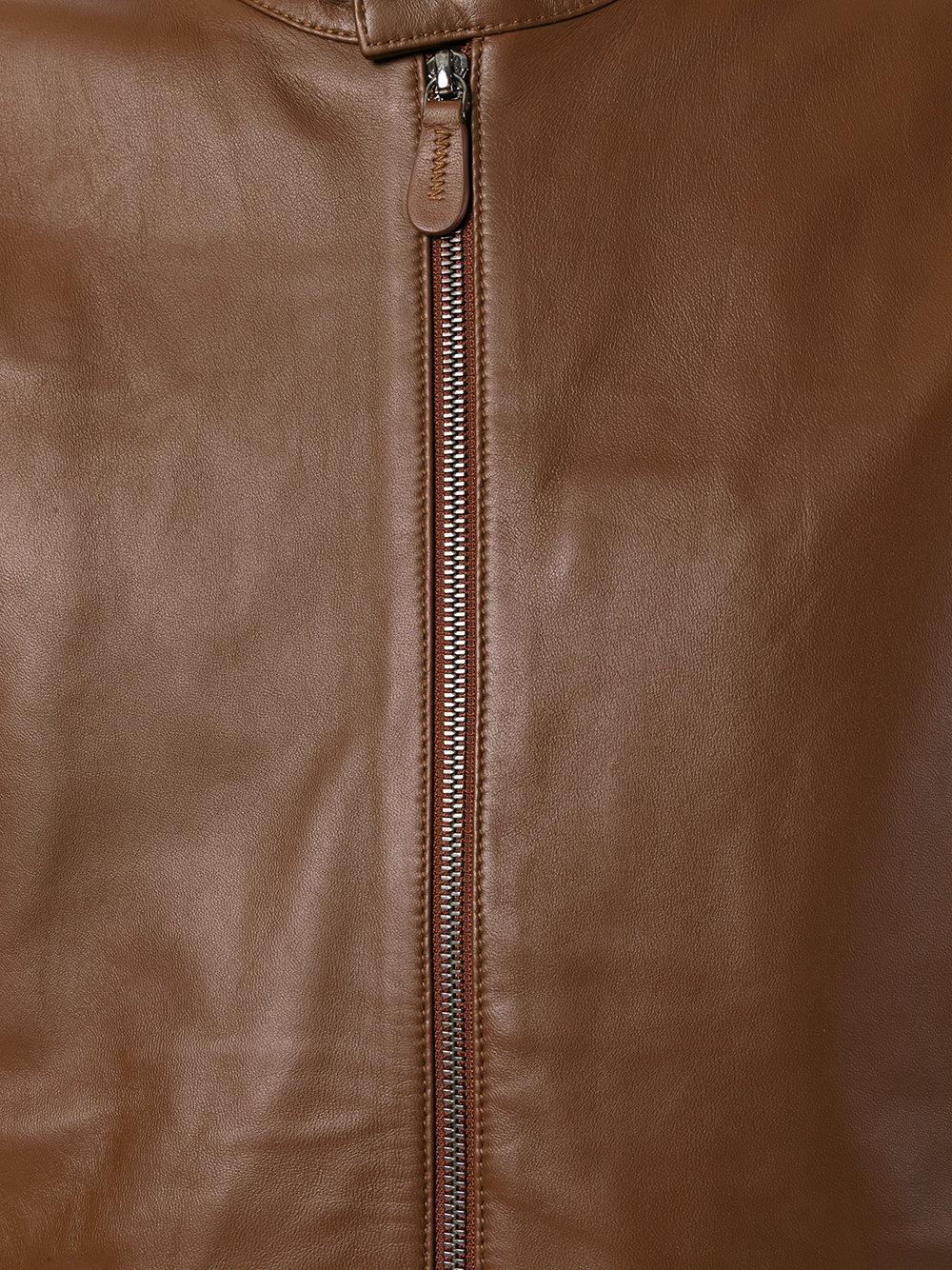 z-zegna-Brown-Bomber-style-Jacket (4).jpeg