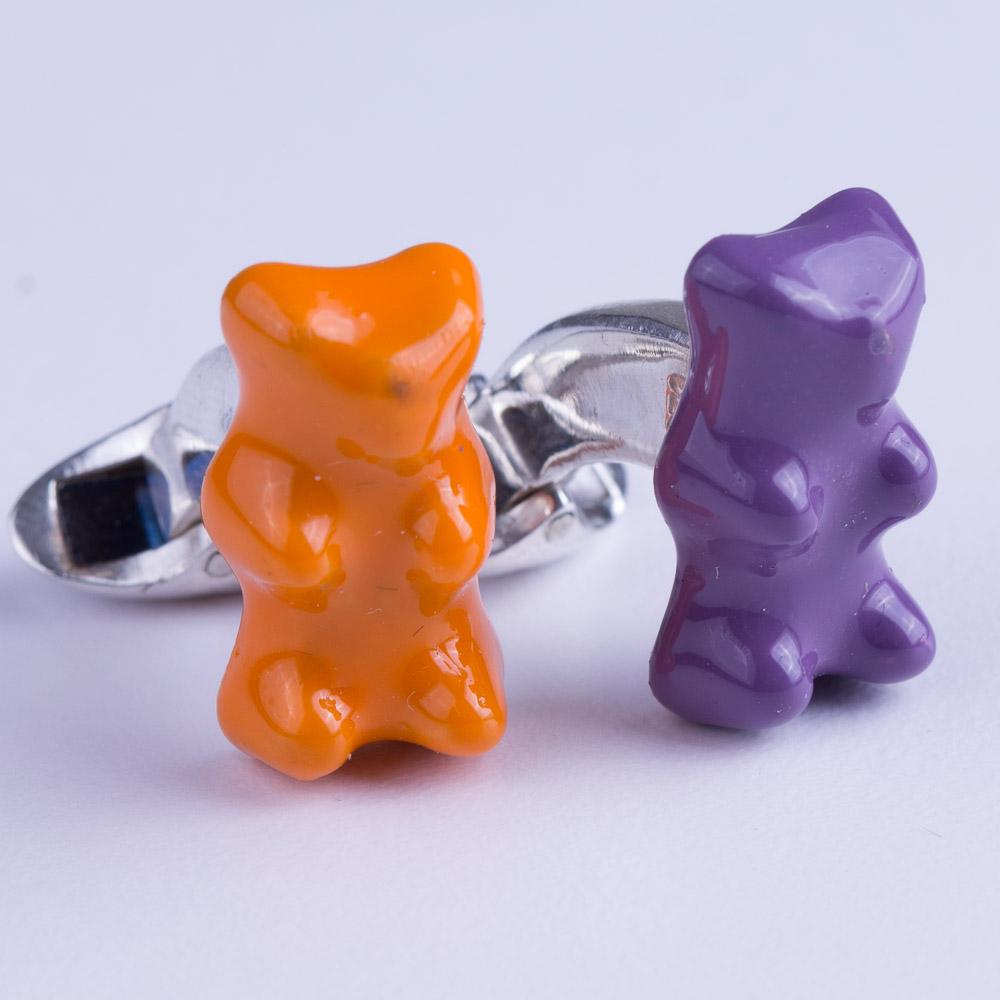 M de Phocas Gummy Bear Cufflinks