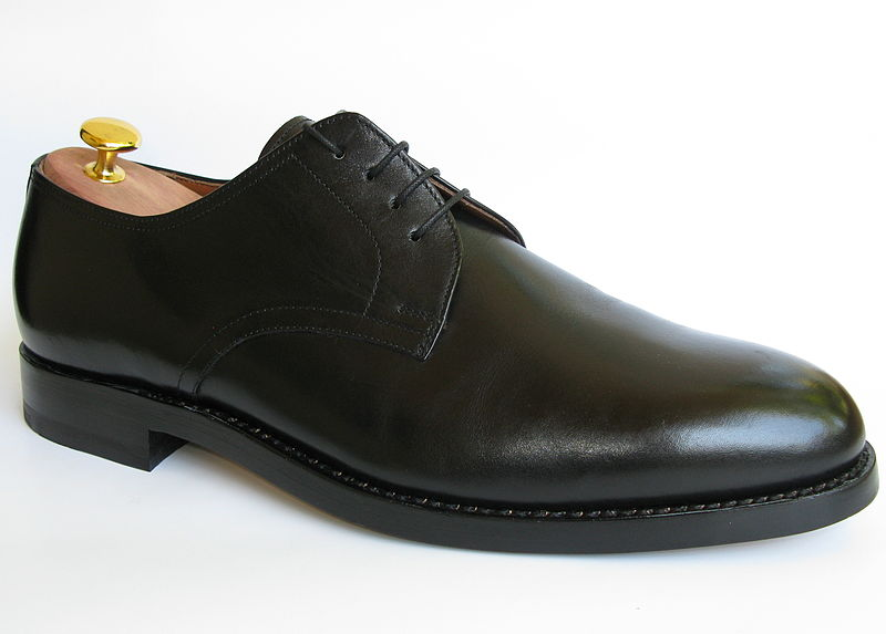 File source: http://commons.wikimedia.org/wiki/File:Shoe-PlainDerby-Black.jpg