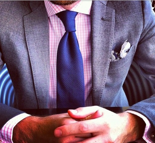 Wedding style light grey suit combinations for Mens dress shirts and ties combinations