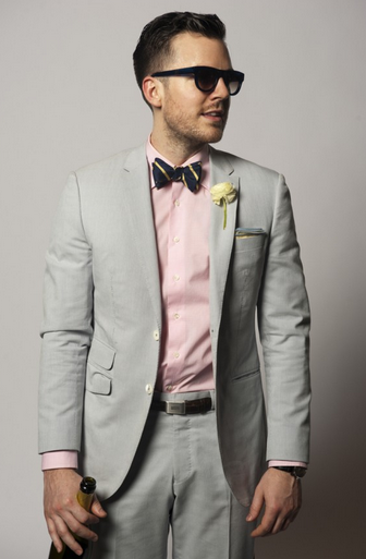 Wedding Style: Light Grey suit combinations