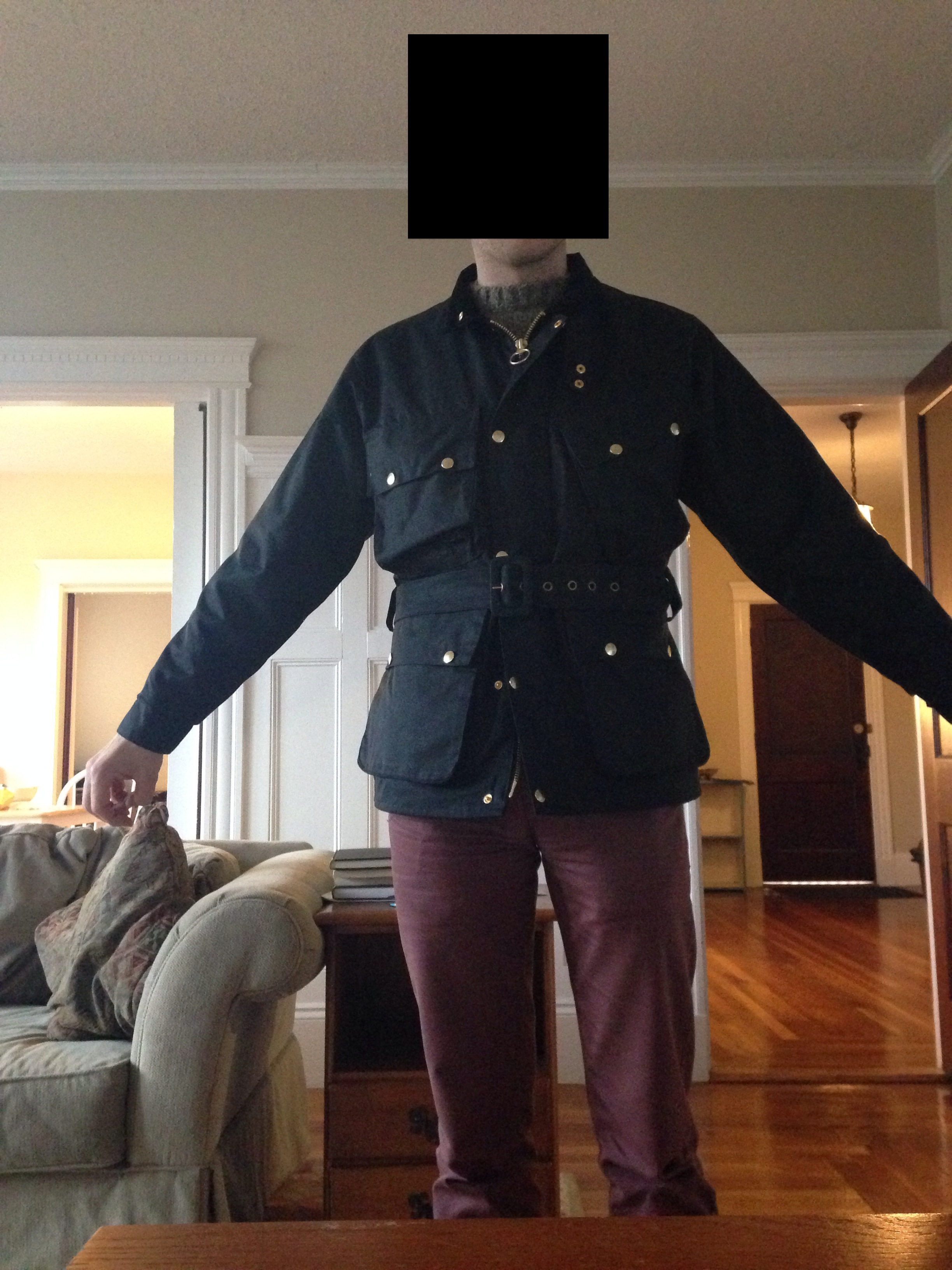 Great Materials At A Great Price But An Absurd Fit