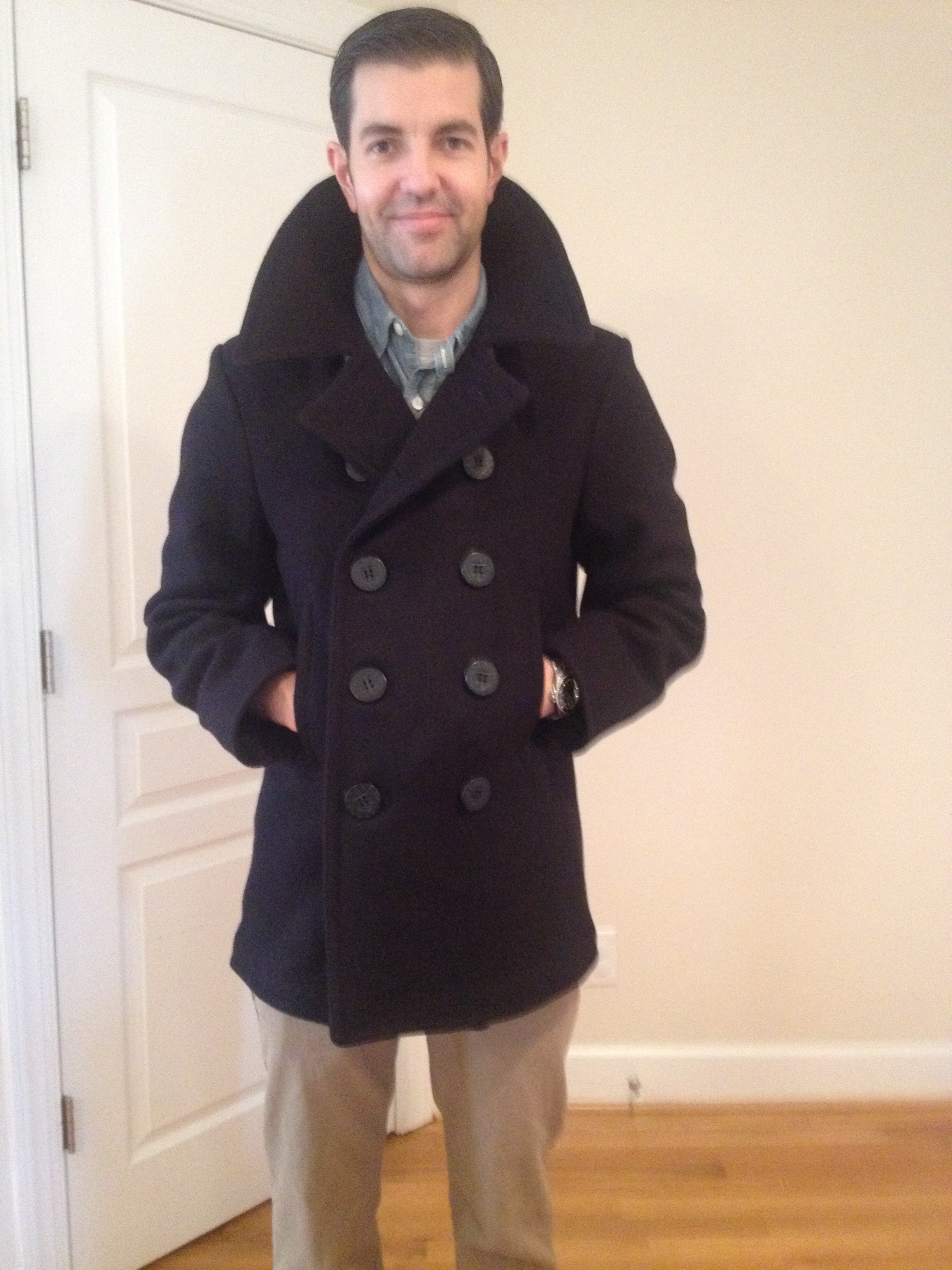 Real Pea Coat - Coat Nj