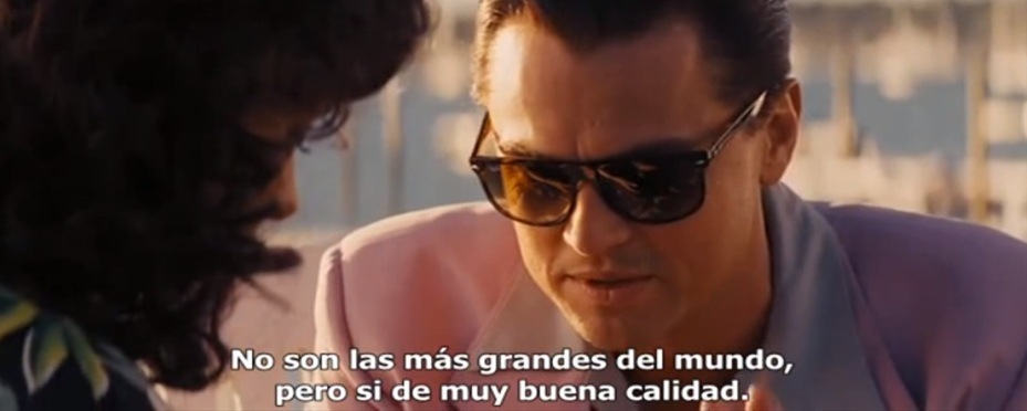 ray ban brille wolf of wallstreet
