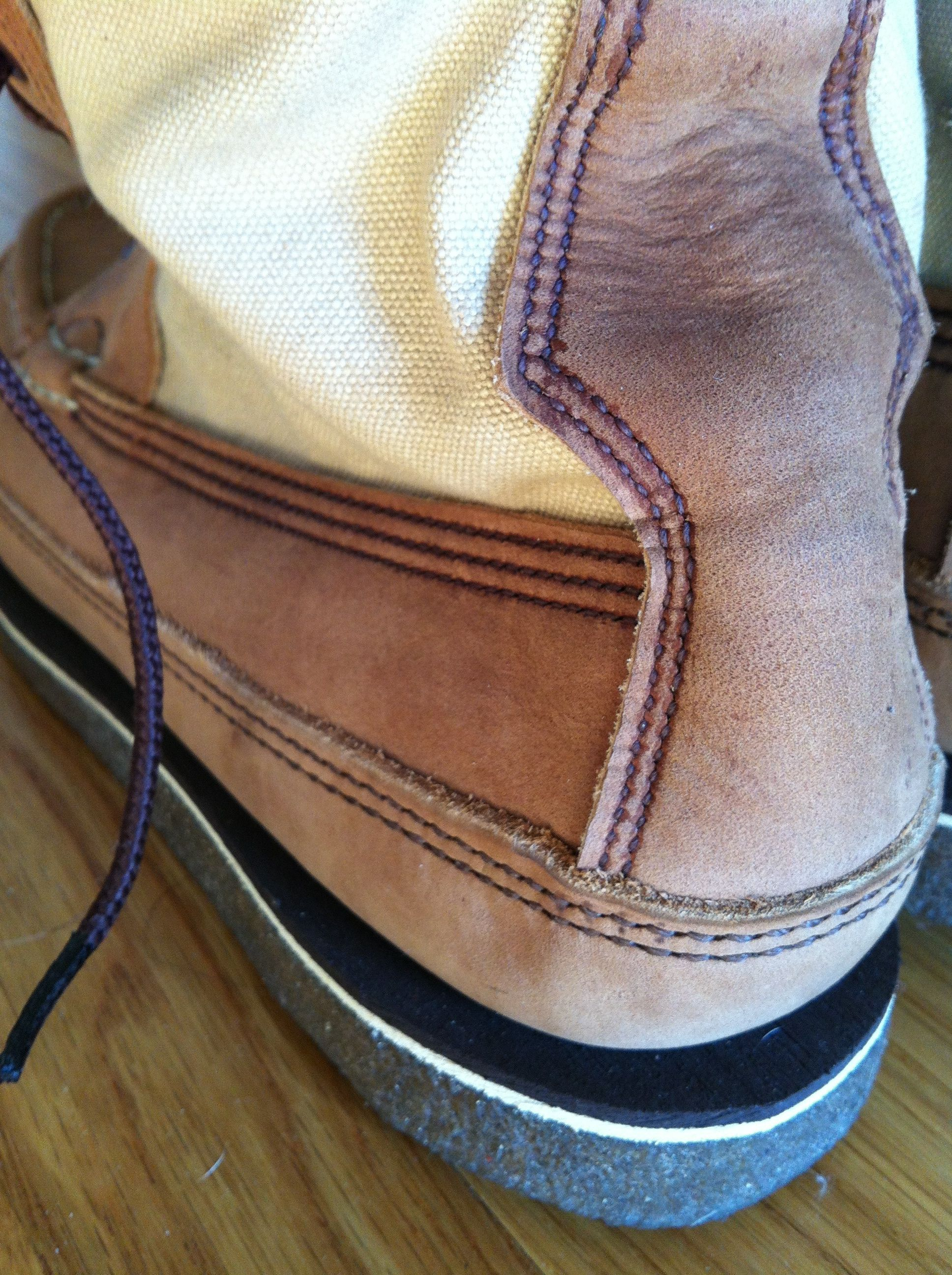 Boots made by Russell Moccasin Company -- experiences ...
