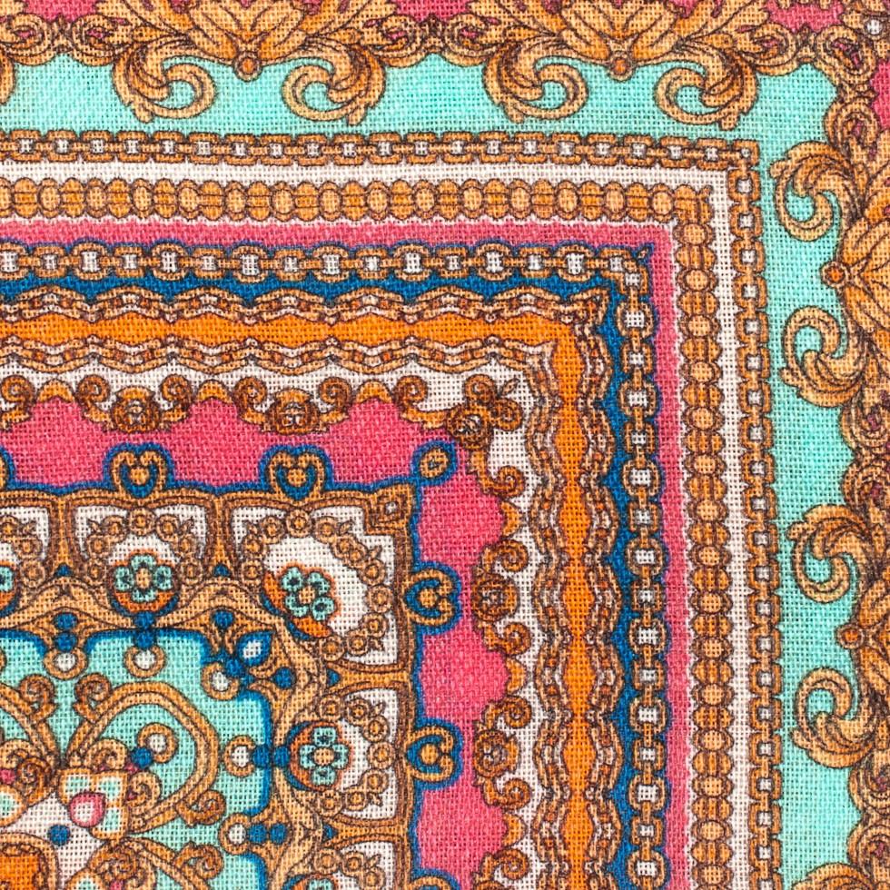 Orange Blue Persian Rug Rugs Ideas