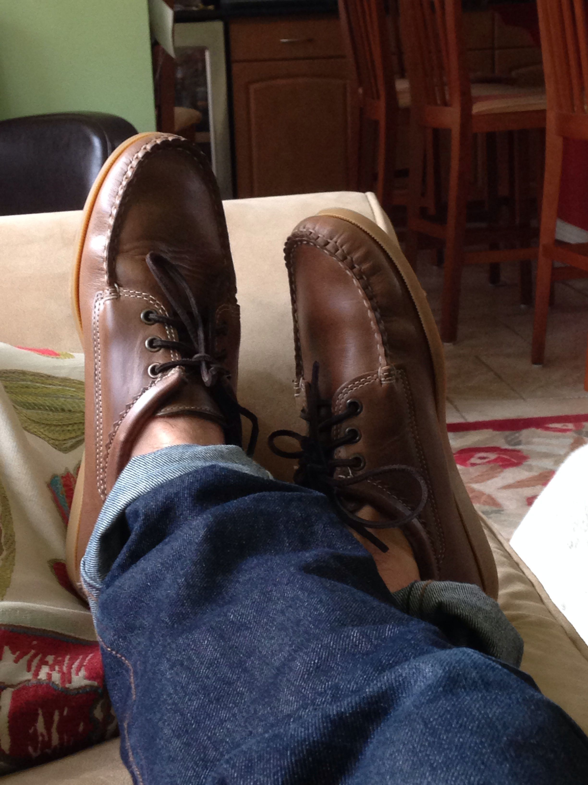 Styleforum boat shoes