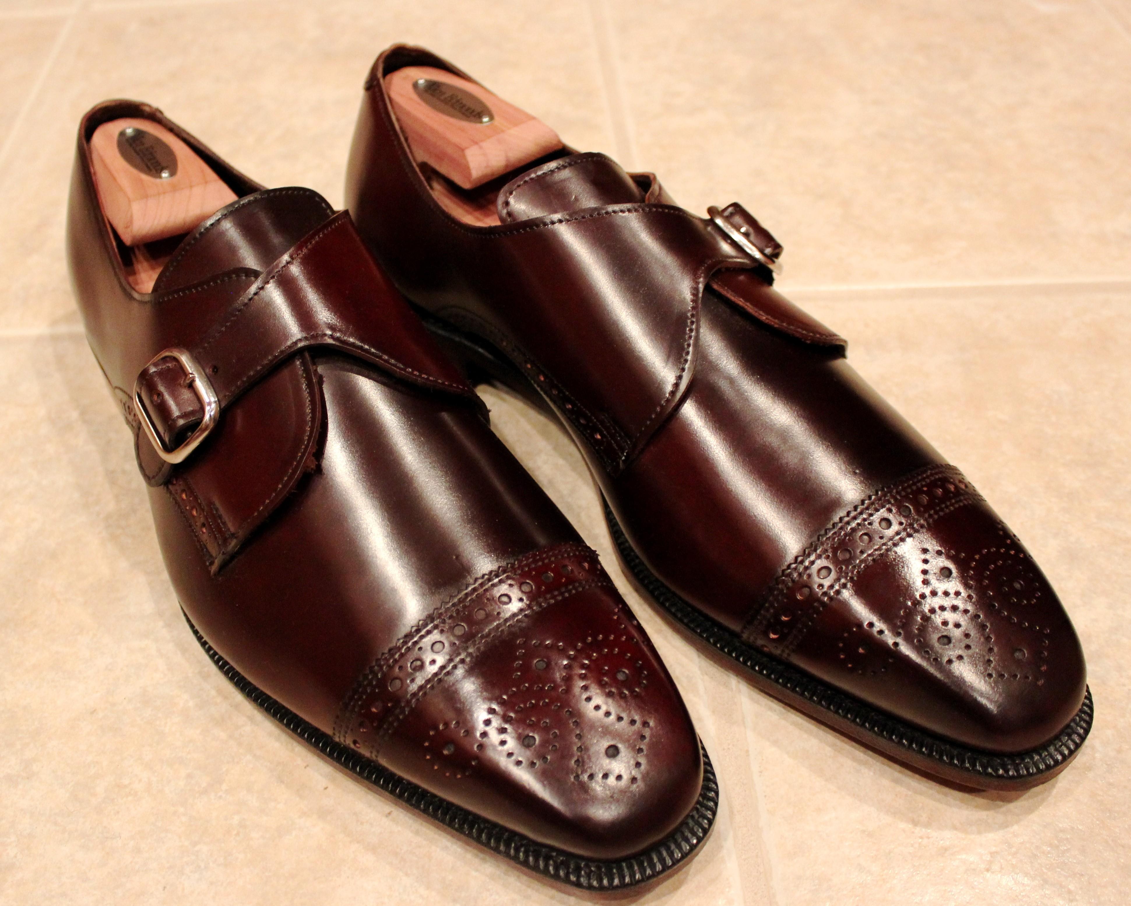 Burgundy Dress Shoes For Men