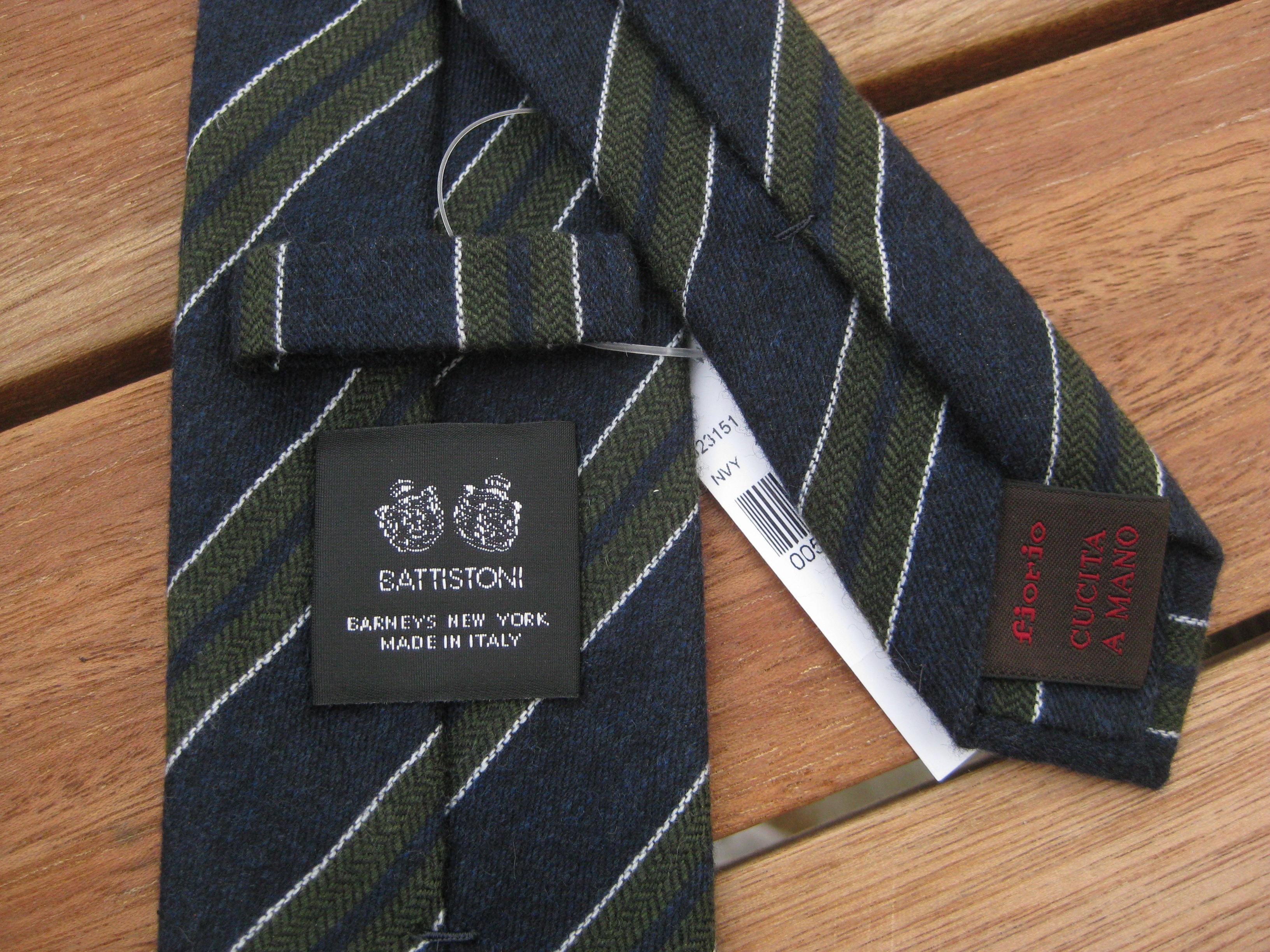 The High End Tie Thread Kiton Brioni Charvet Borrelli