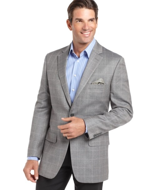 What shirt with a Grey Sports Coat/Navy Pants/Brown Shoes | Styleforum