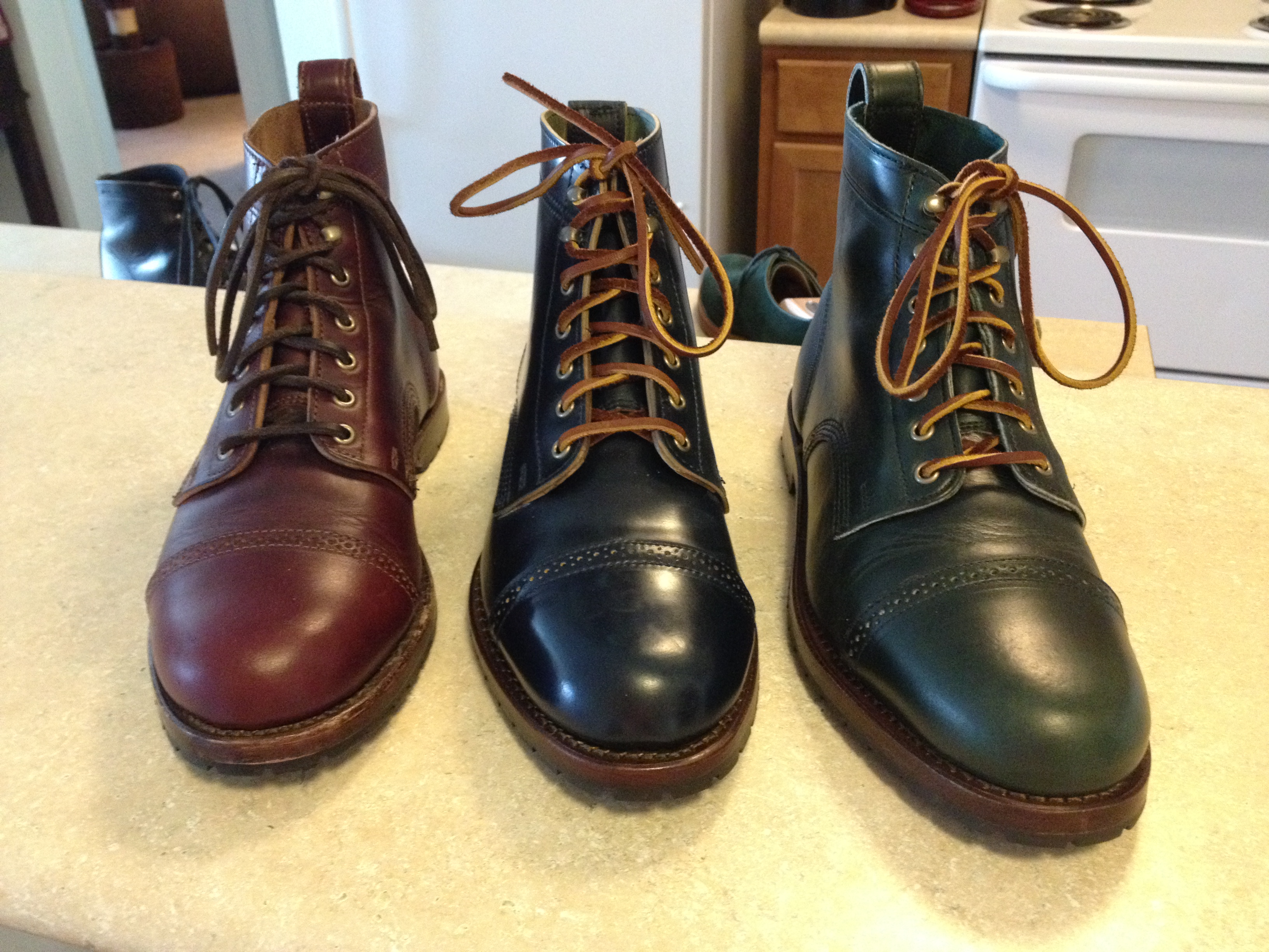 These Specs Were Designed To Mimic My Two Eastland Made In Maine Monroes Both Blake Boots By Rancourt