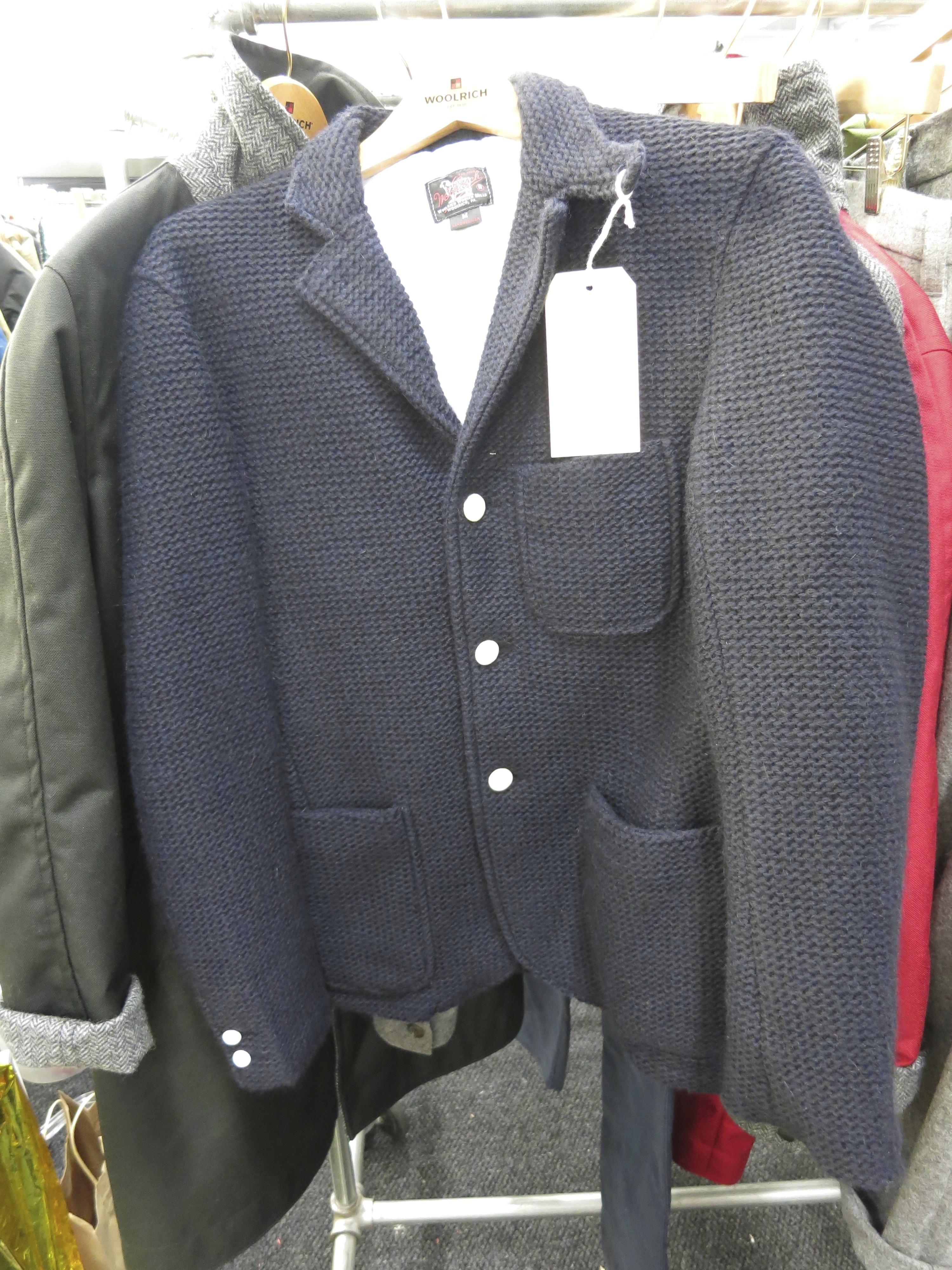bbf5d3447d893 Into a Time Machine: Woolrich Woolen Mills at Capsule New York ...