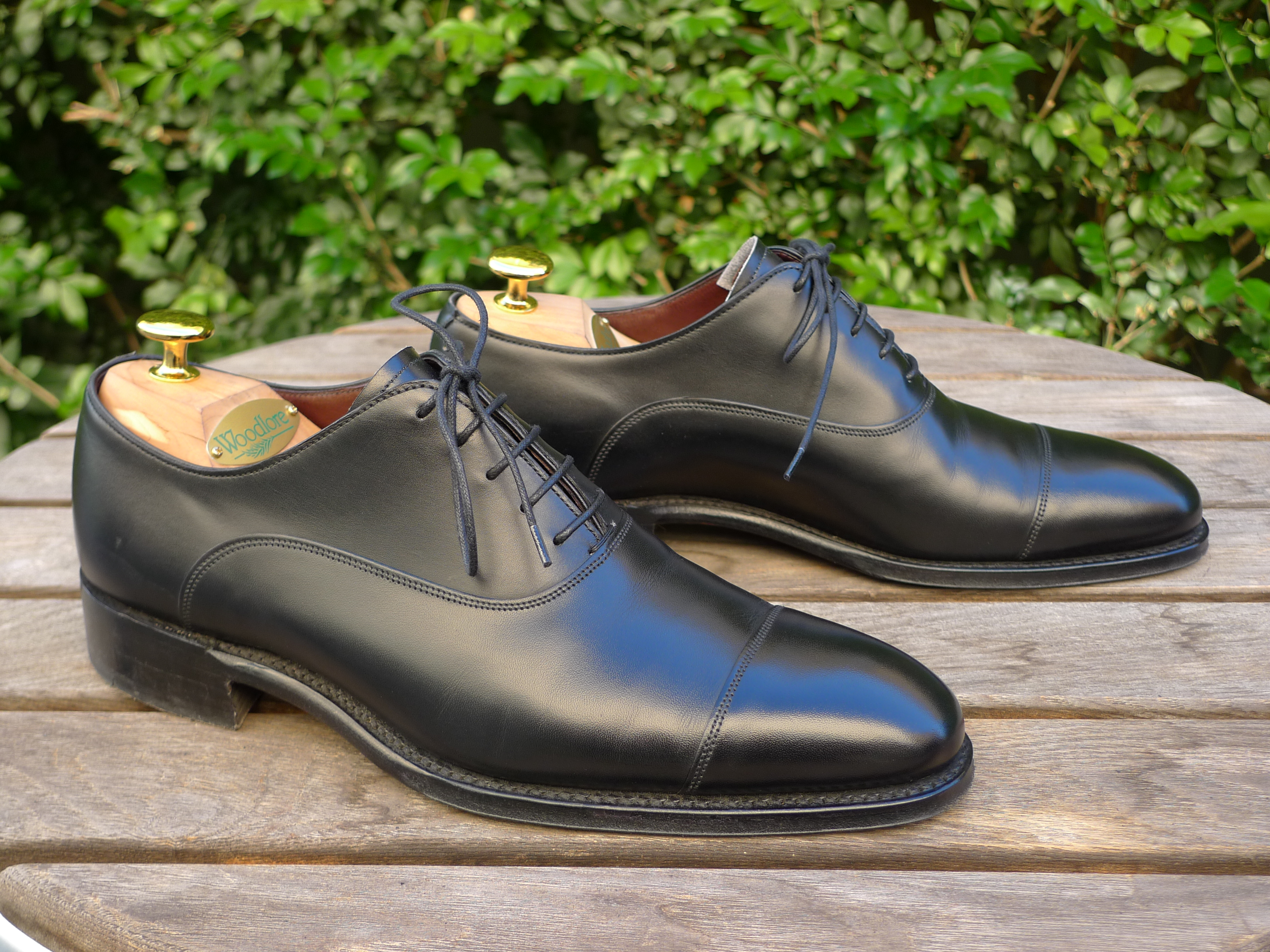 4ce6f9d48a4b My Cheaney Imperial Buckingham Oxford in Black, 208 last, size UK 6 Fitting  F Purchased from Shoehealer, RRP £375 ext. VAT