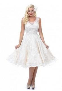 Ivory swing dress