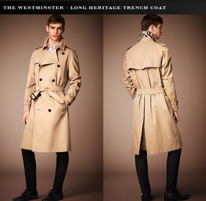 Burberry Trench Coat Colour Styleforum