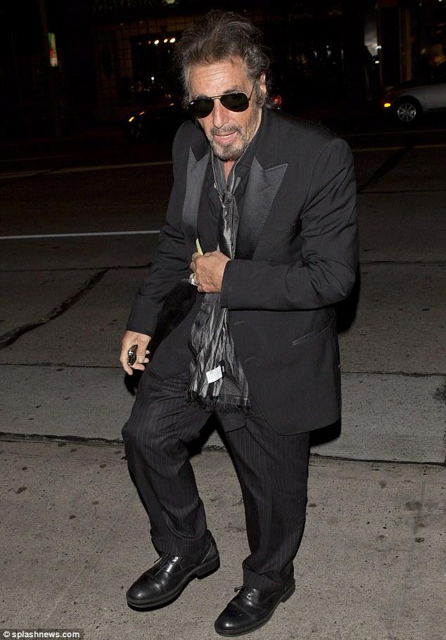 Al Pacino Scarves Styleforum
