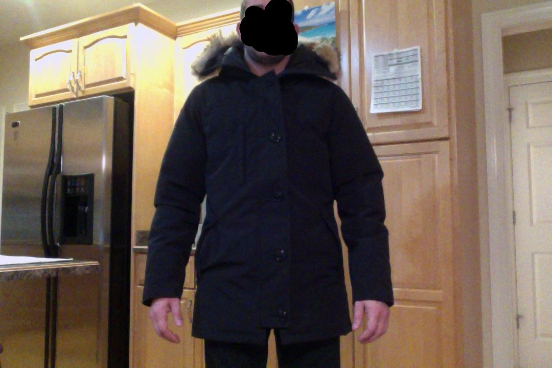canada goose chateau taille s