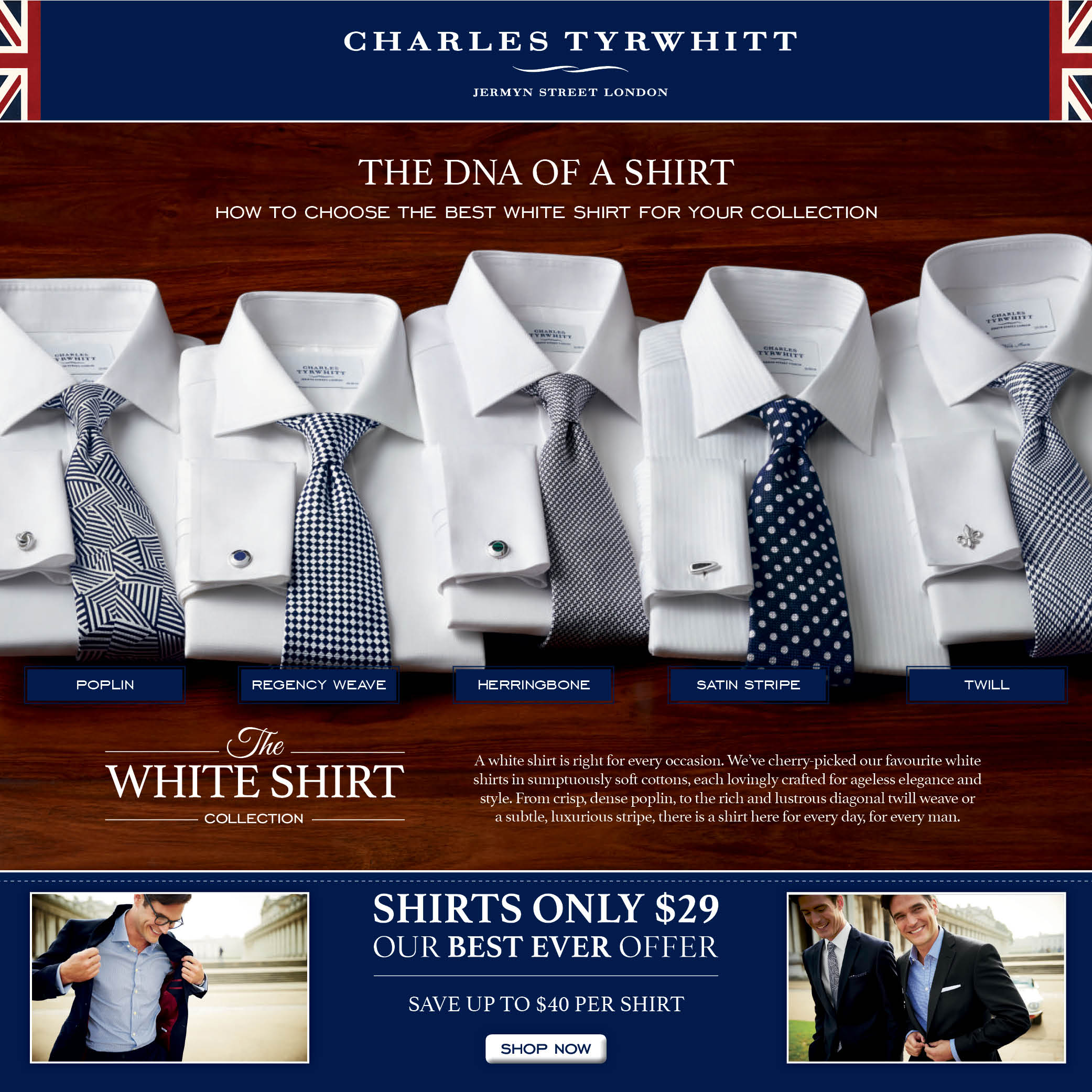 a482c946 CT Shirts Presents: How to Choose the Best White Shirt for Your Collection