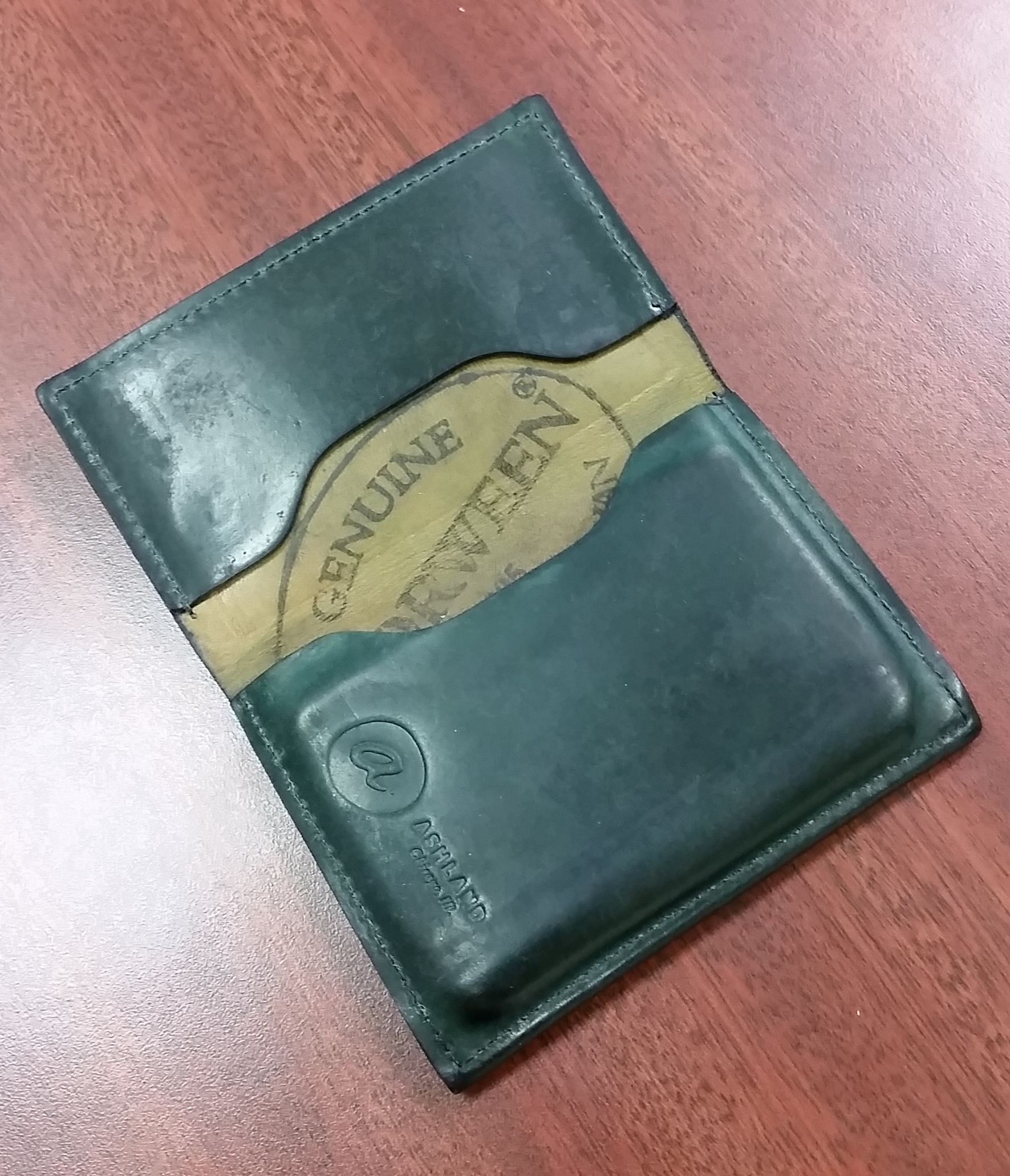 shell cordovan wallet pron page 34