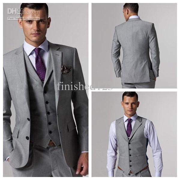 Help me find my suit: Wedding Thread (Grey 3 piece, 5 or 6 button ...