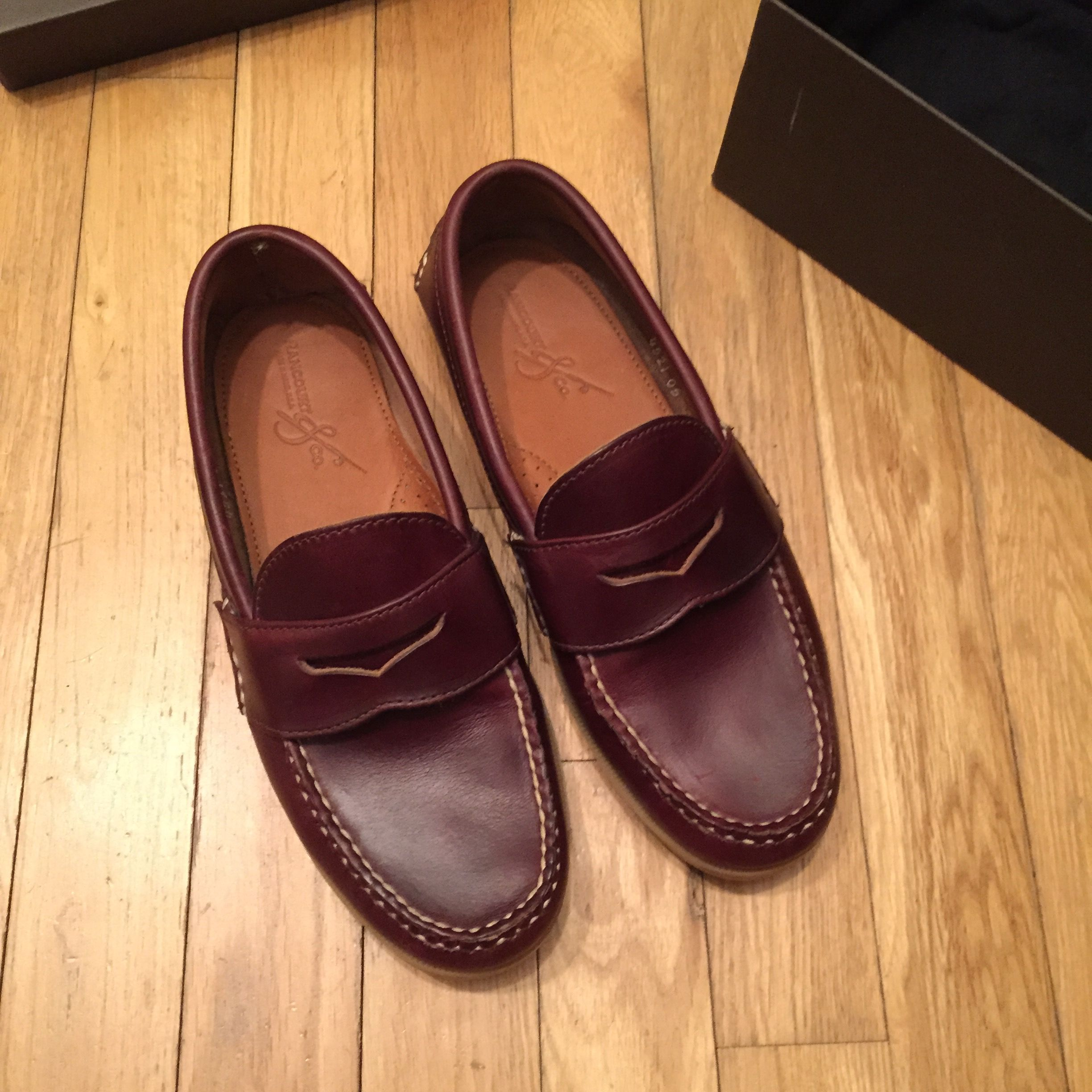 2f6f429c9e1 BNIB Rancourt Pinch Penny Loafer 8D - Colour 8