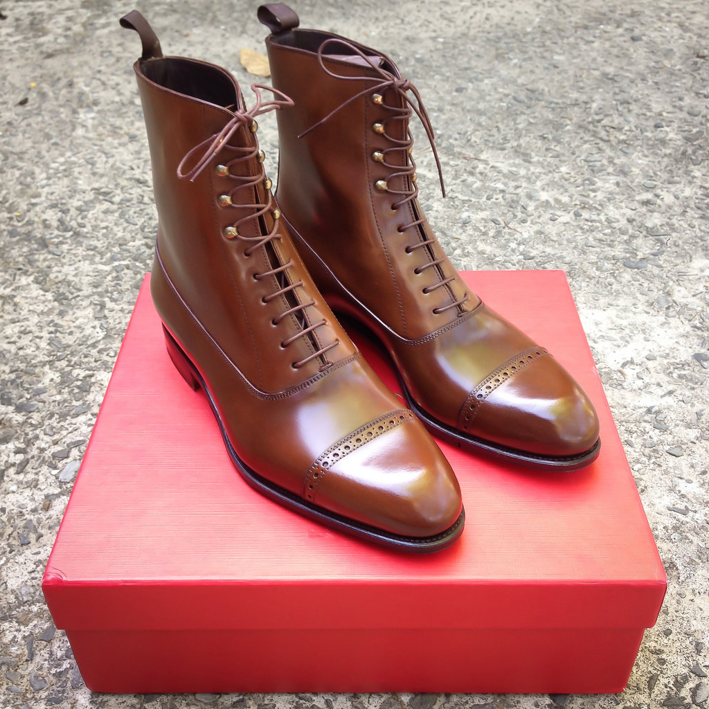 Depth Brown Dress Balmoral Shoes