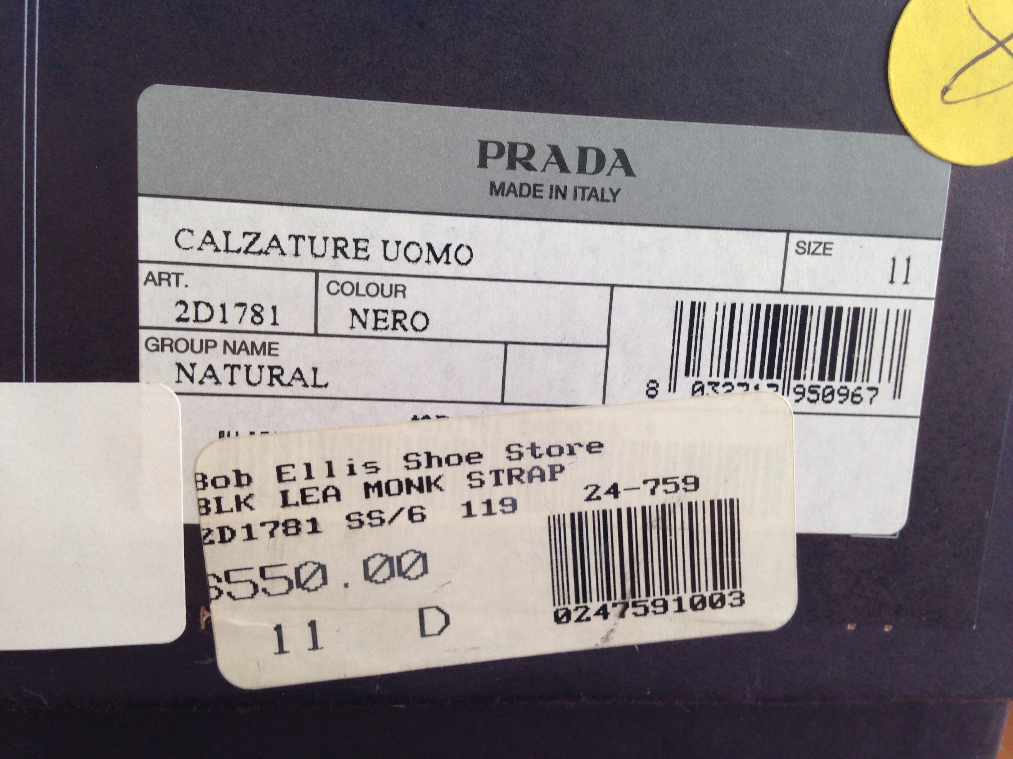 Prada shoe size help styleforum nvjuhfo Images