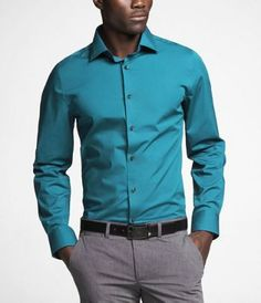 Teal blue shirt and puple tie combo? | Styleforum