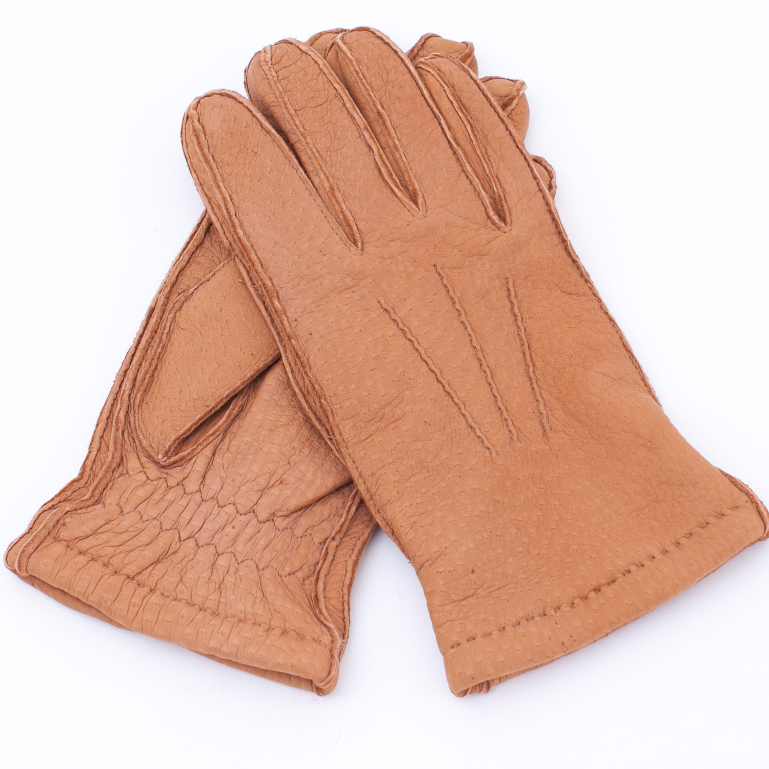 Merola Cashmere-Lined Carpincho Gloves