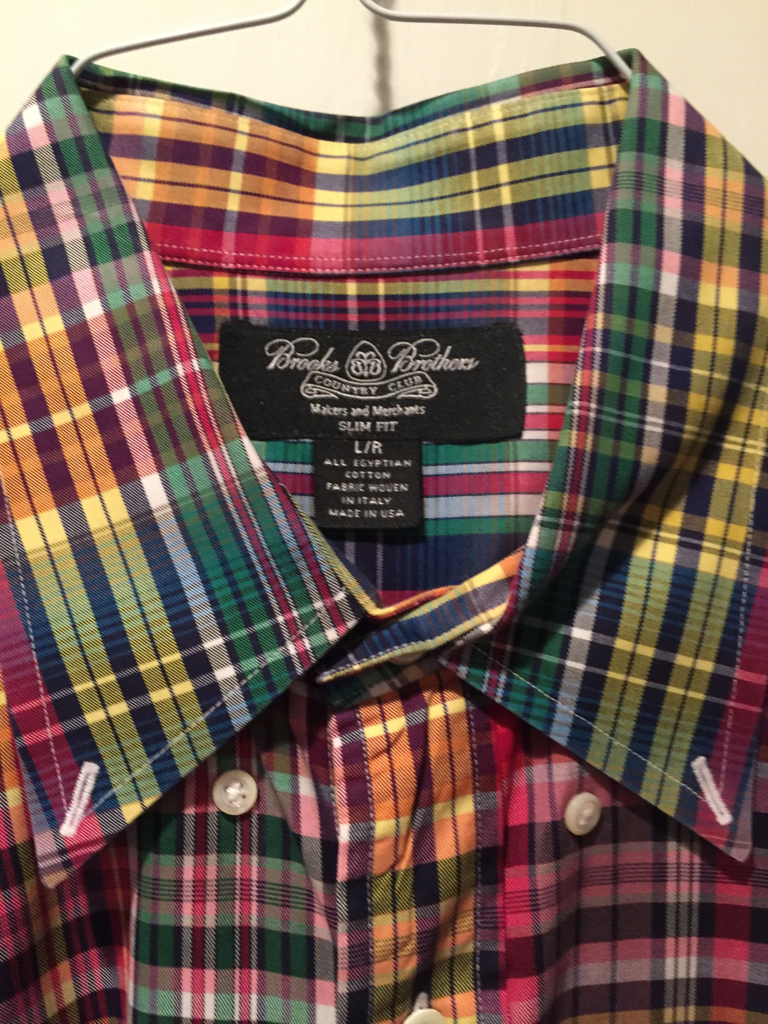 Lot Of Gently Worn Brooks Brothers Shirt 1818 Country Club