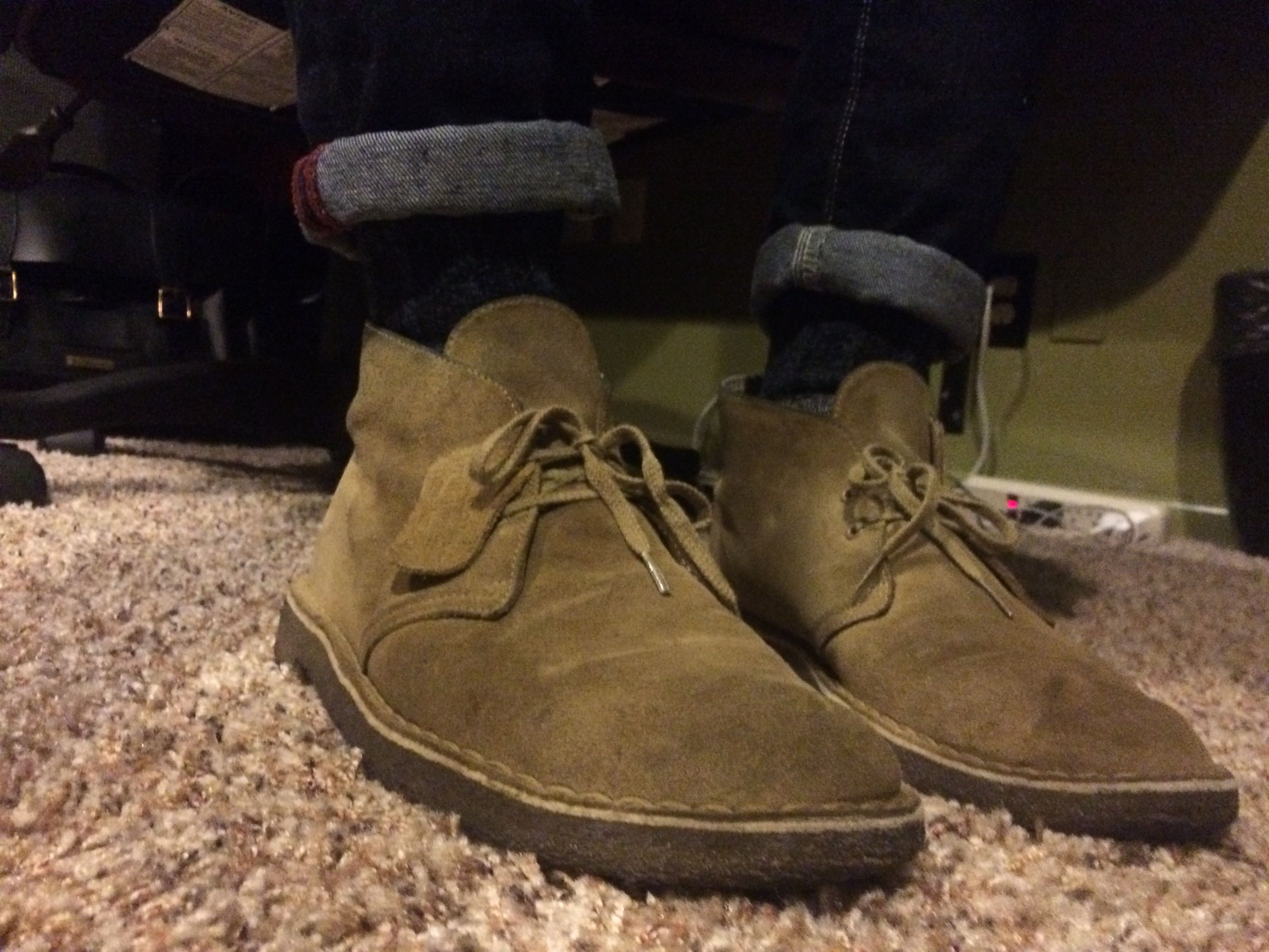 Oakwood Suede First Pair About 3 Years Old