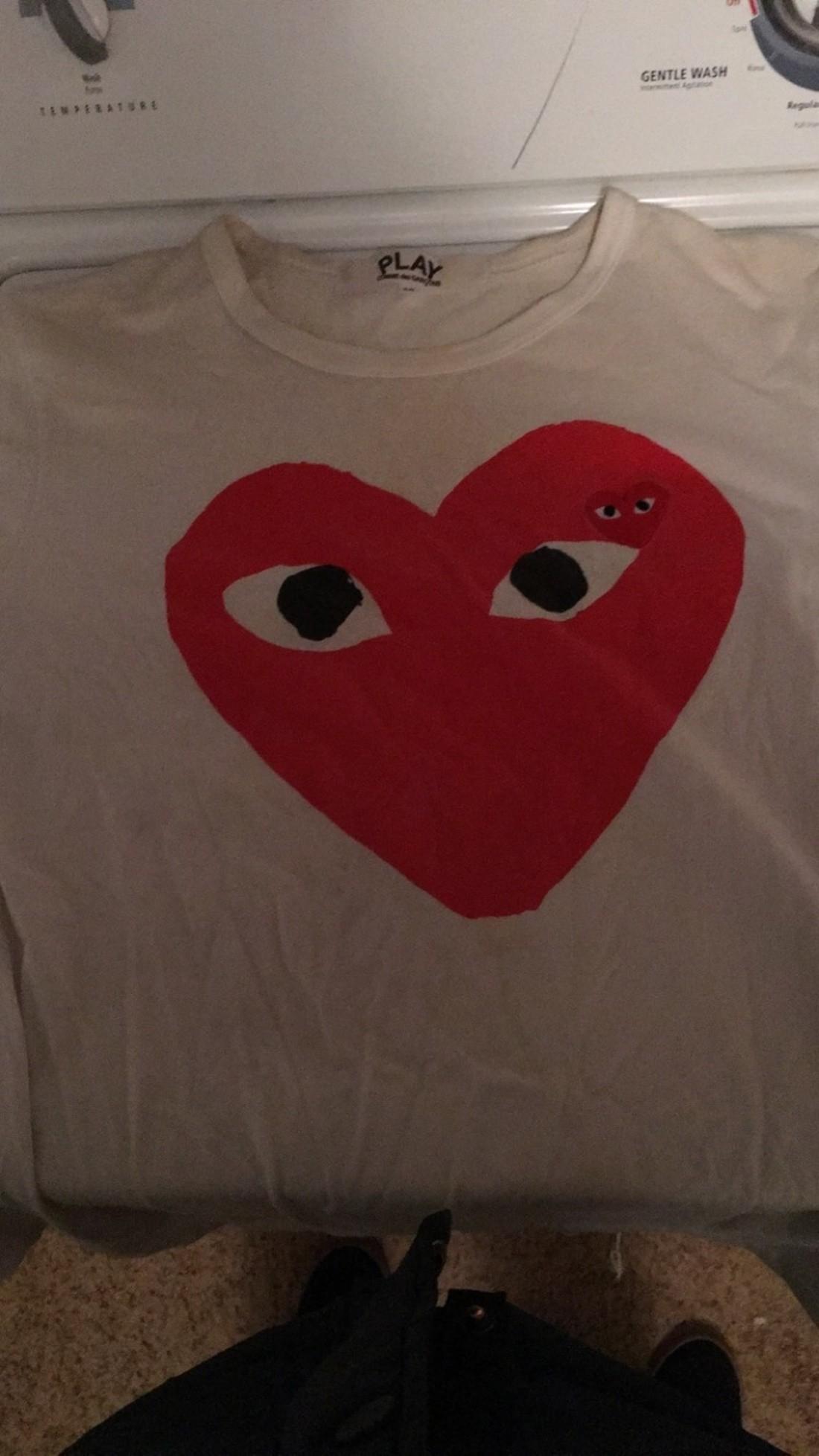 Legit Check On CDG Play Shirt?   Styleforum