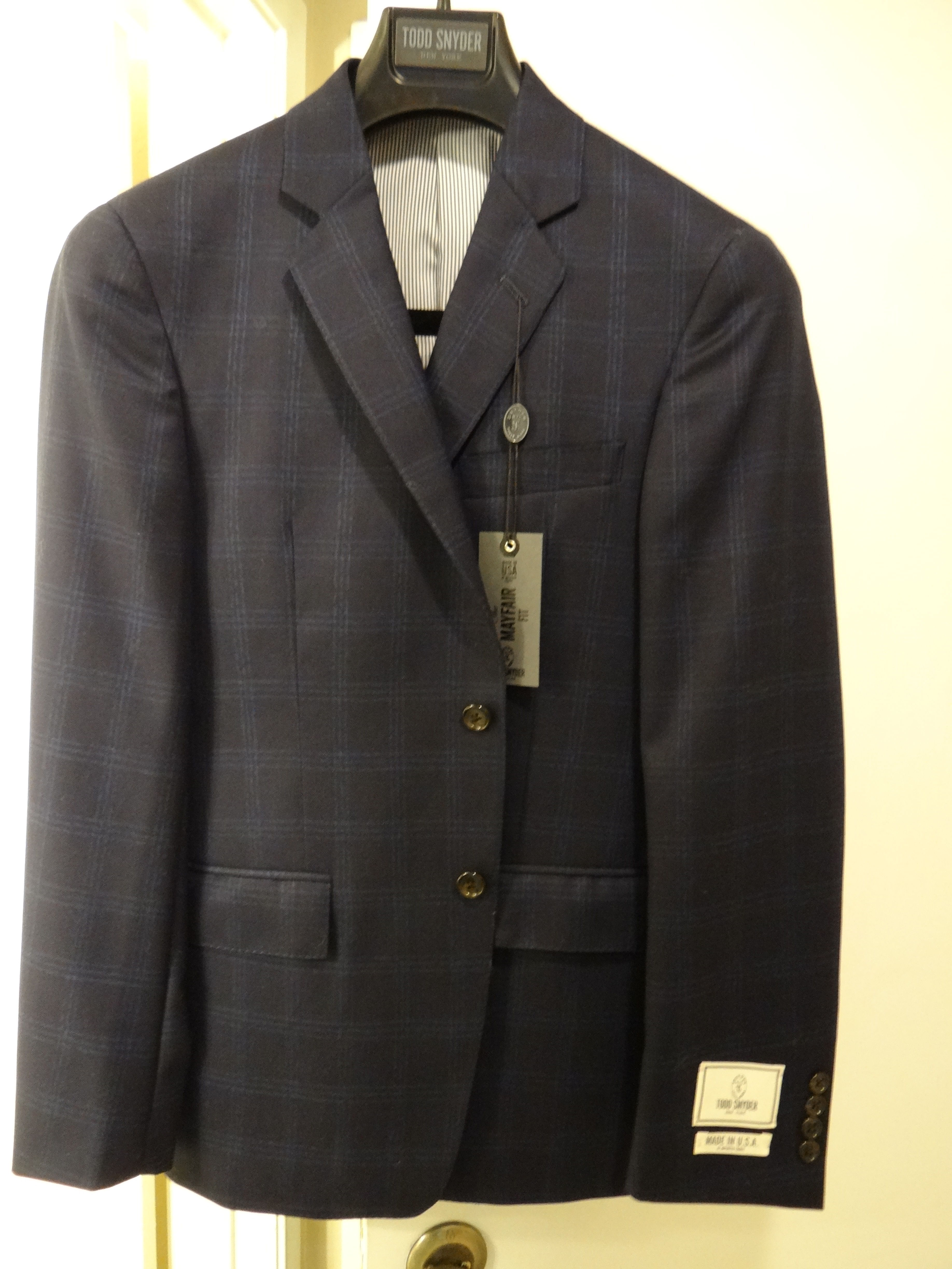 4/20 FURTHER PRICE DROP! Inexpensive NWT Navy Blue Sport Coats ...