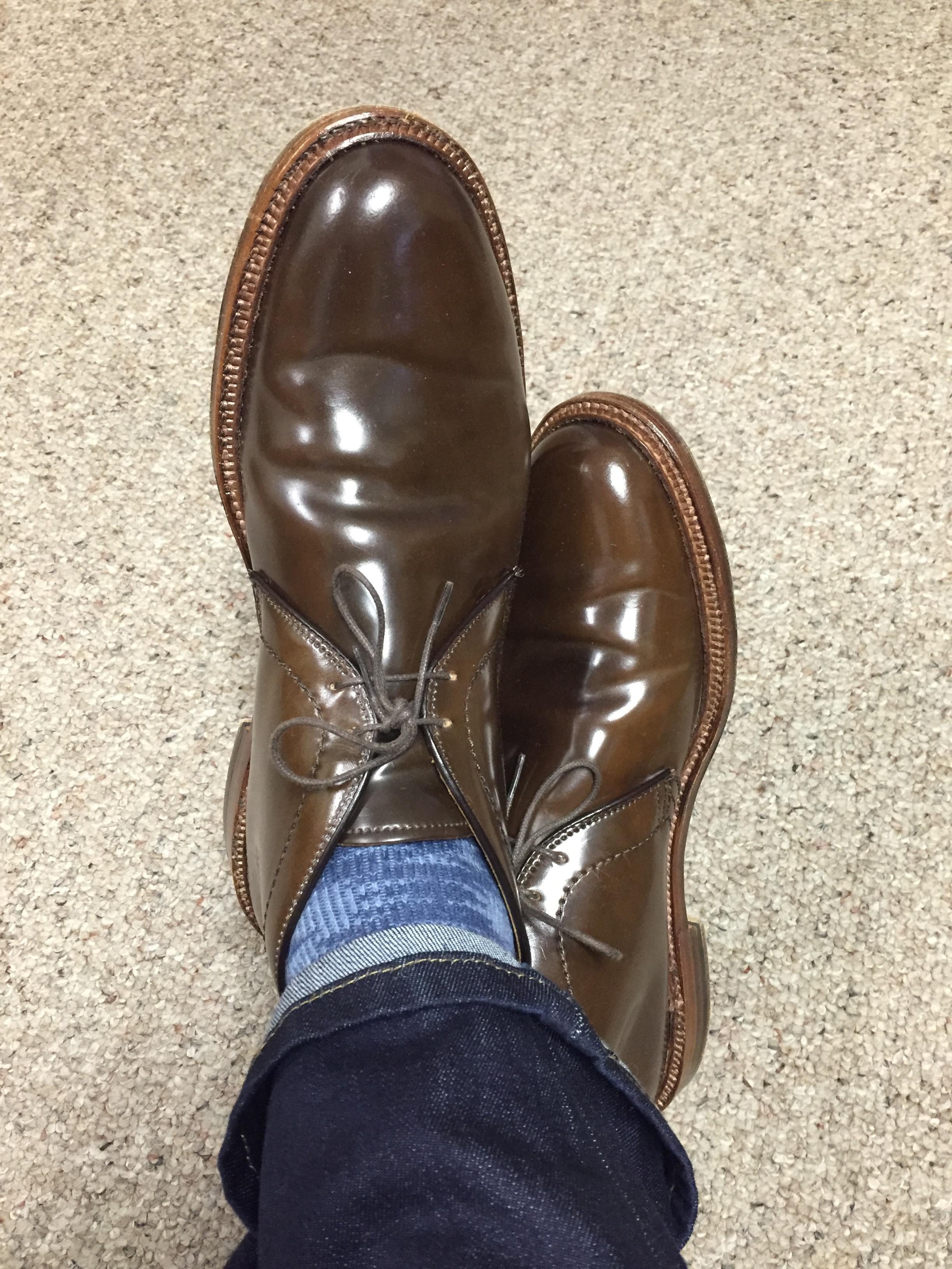 Alden Shoe Width Sizing