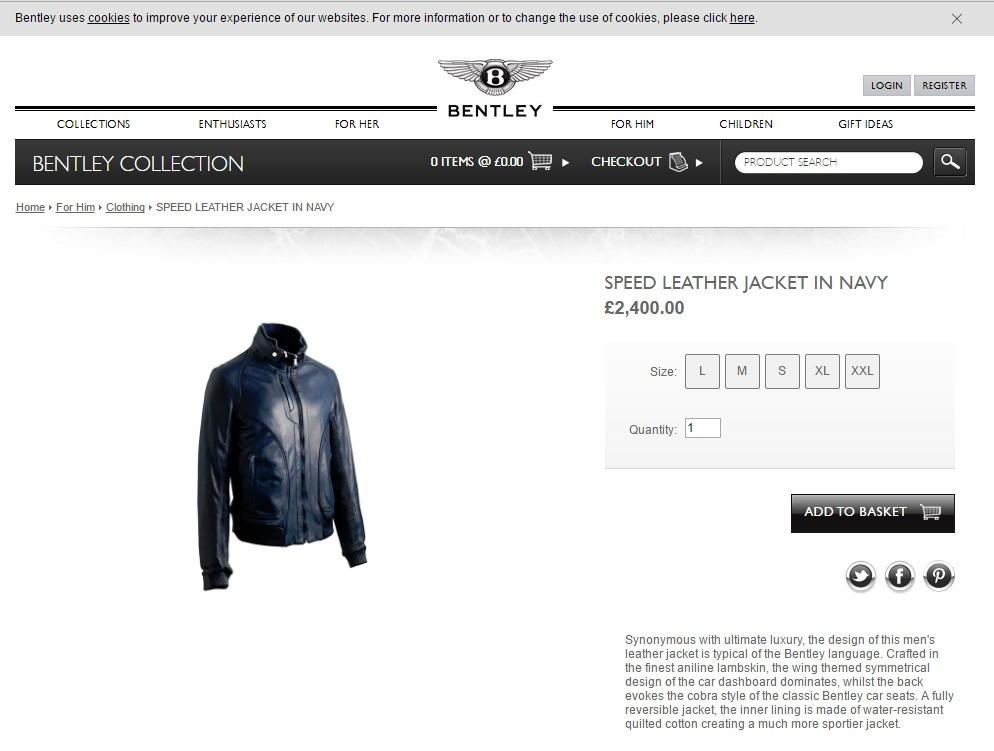 1d746502f67 Bentley leather jacket  any idea