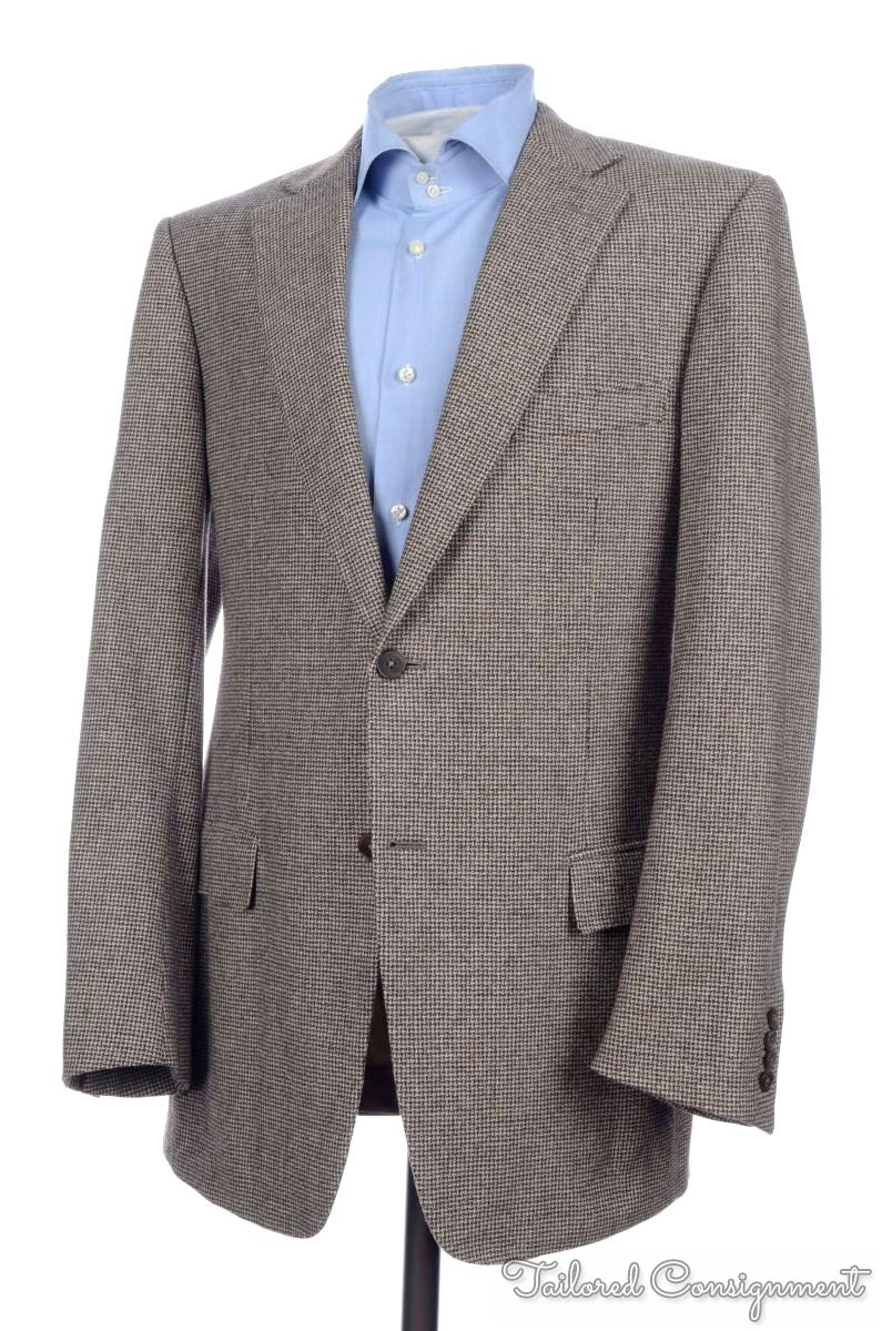 HUGO BOSS Recent Solid Blue Wool Center Vent Jacket Pants SUIT Mens - 40 S