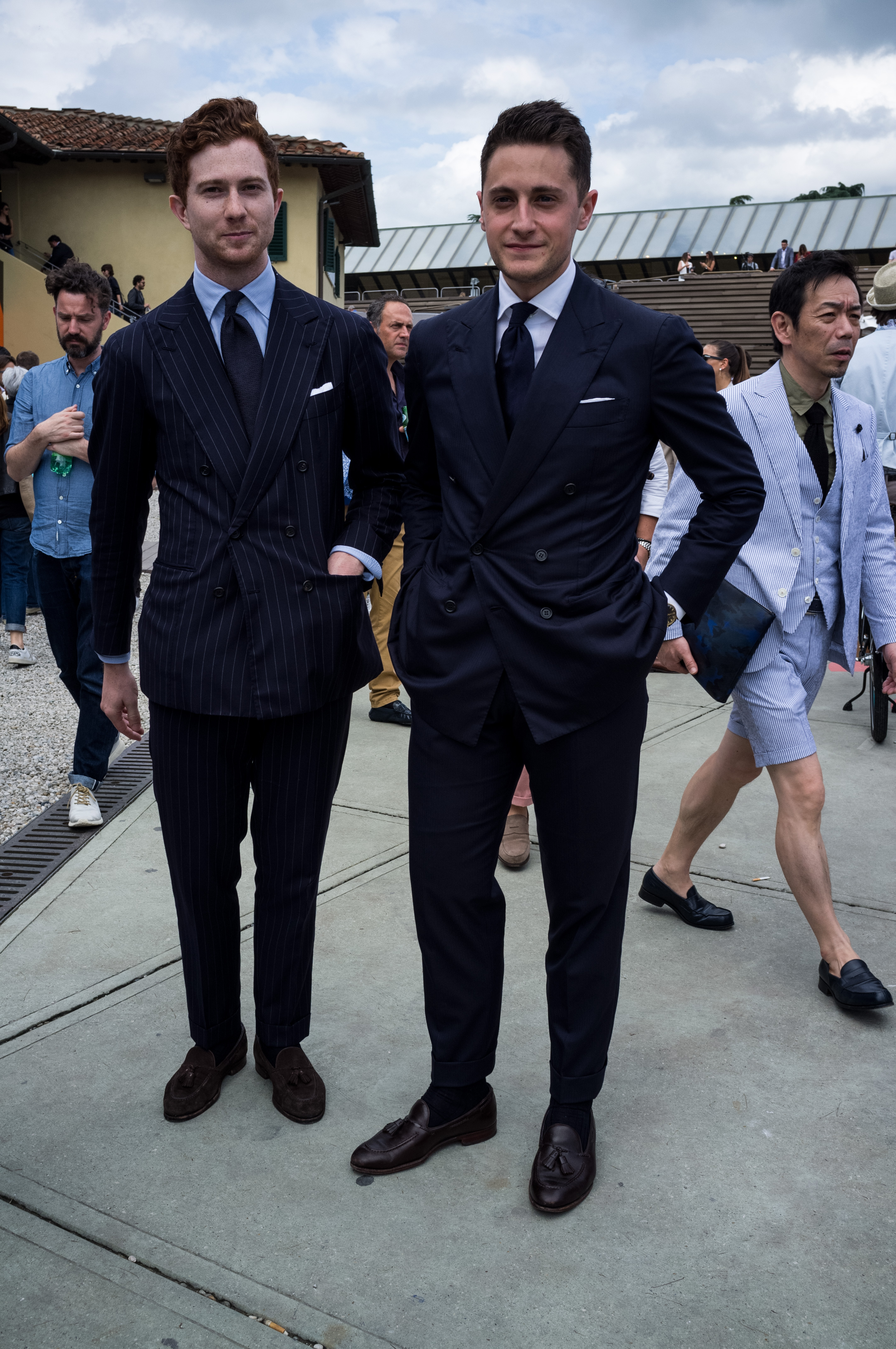 A Second Try At Indochino The Navy Blue Db Suit Street X Sprezza