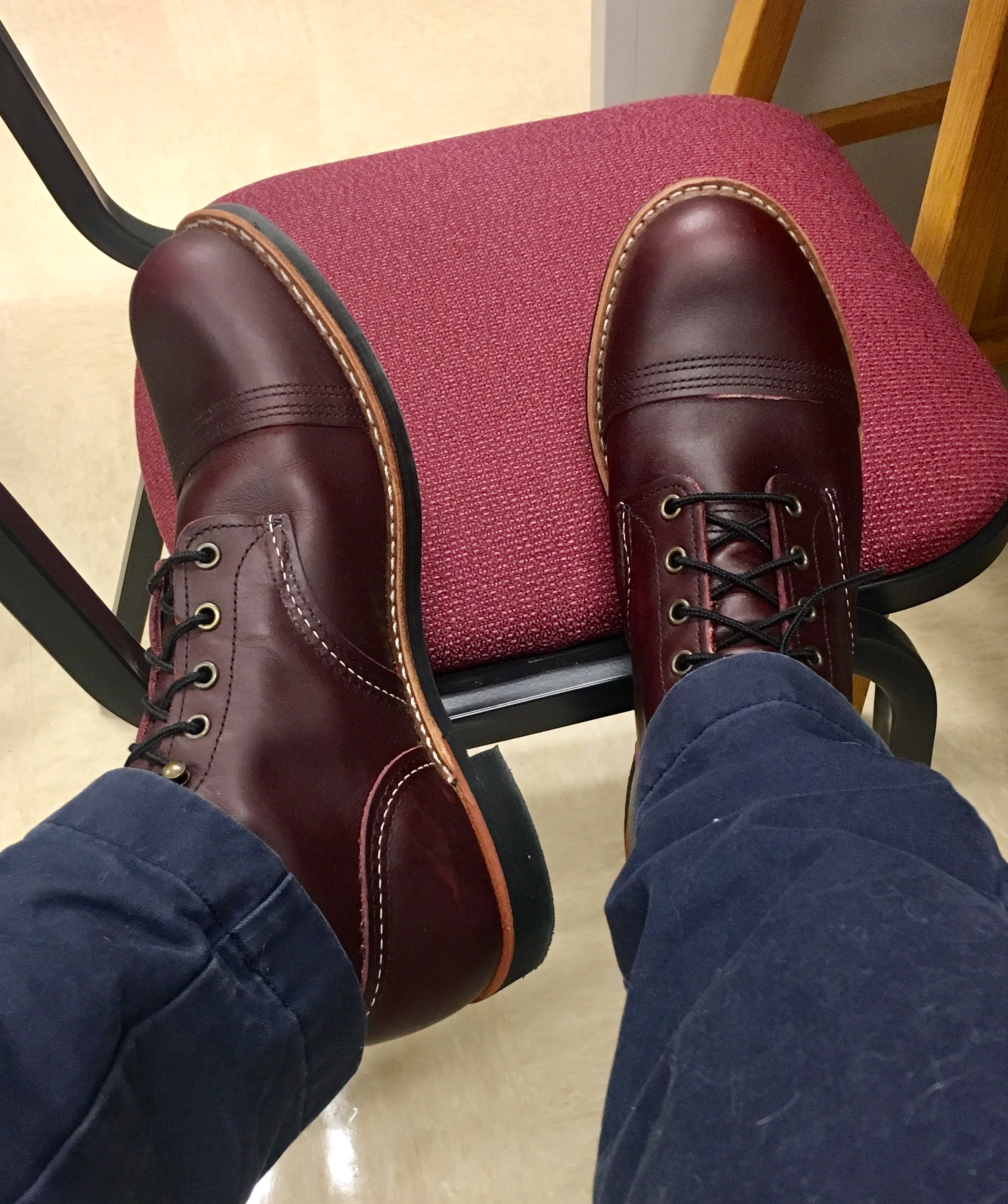 c474f0b3948 Red Wing Iron Ranger Boots - what's the dilly yo? | Page 79 | Styleforum