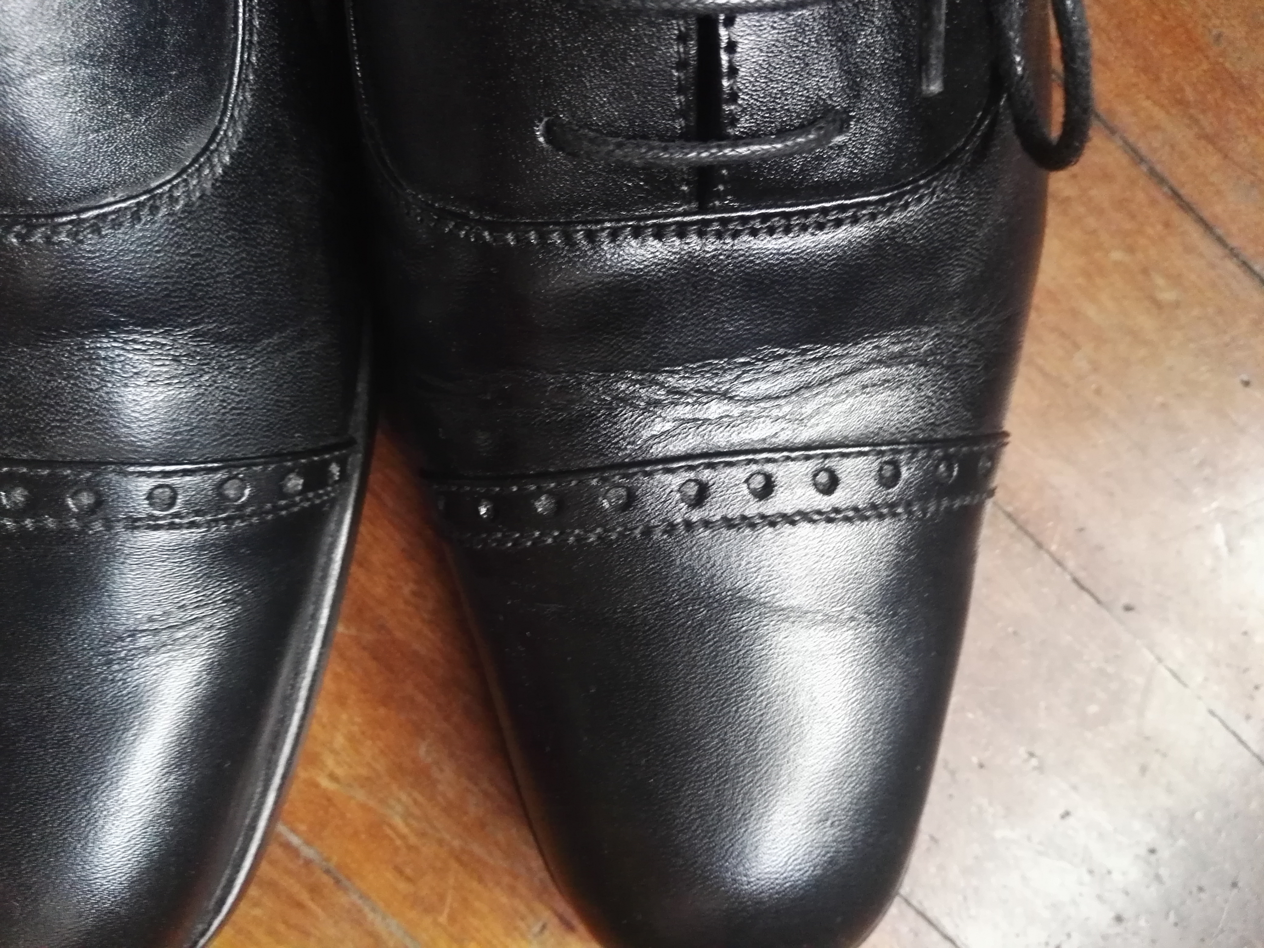 82336b17419a8 Bad creases in shoes after one wear | Styleforum