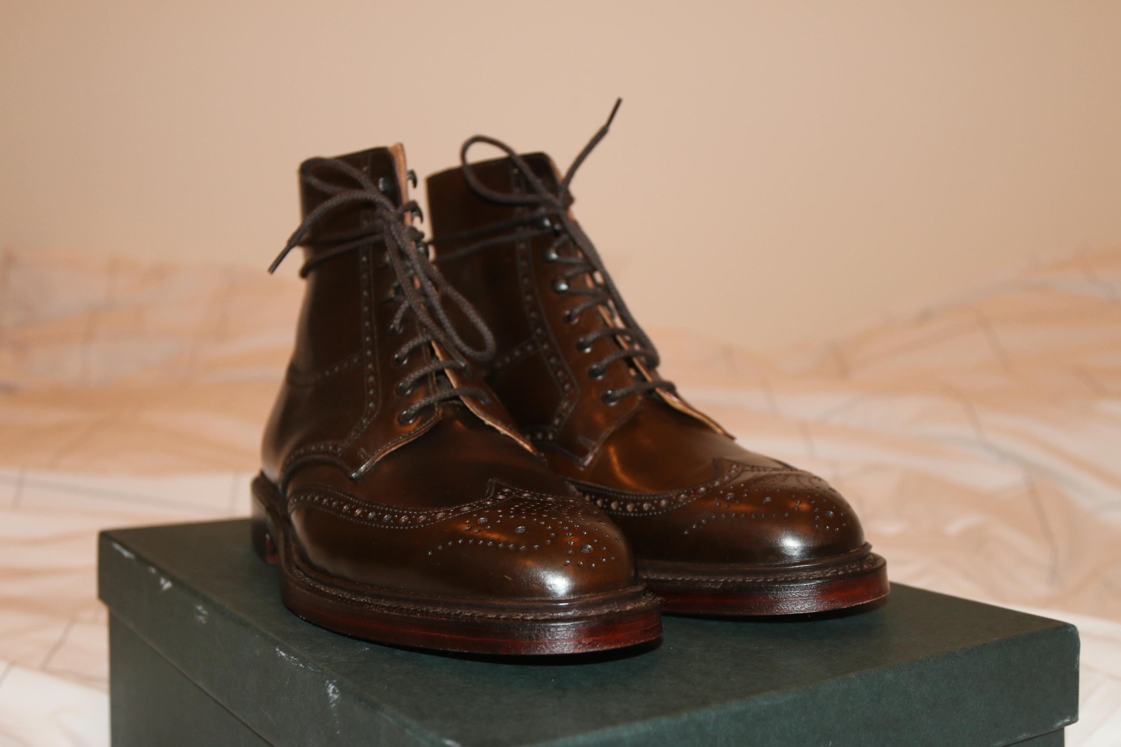 FS: BRAND NEW Crockett Jones Lindrick Boot Brown Shell ...