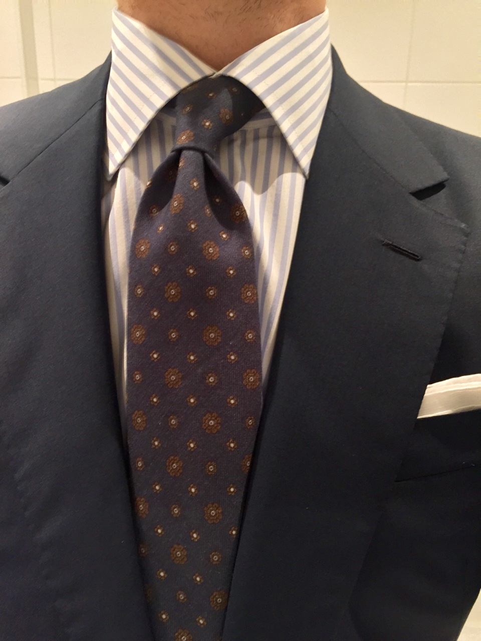 On Tie Knots and Shirt Collars