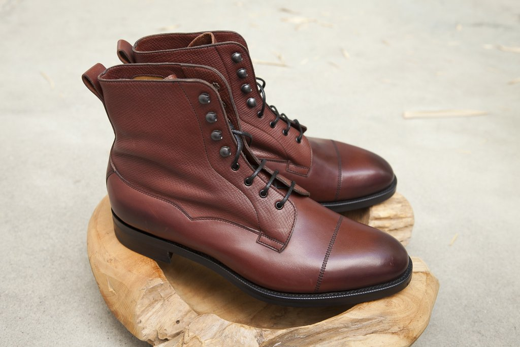 Burgundy Halifax Utah Leather Chukka Boots Edward Green Cheapest Cheap Latest Classic Discount Pictures 5jr7p4Jt4