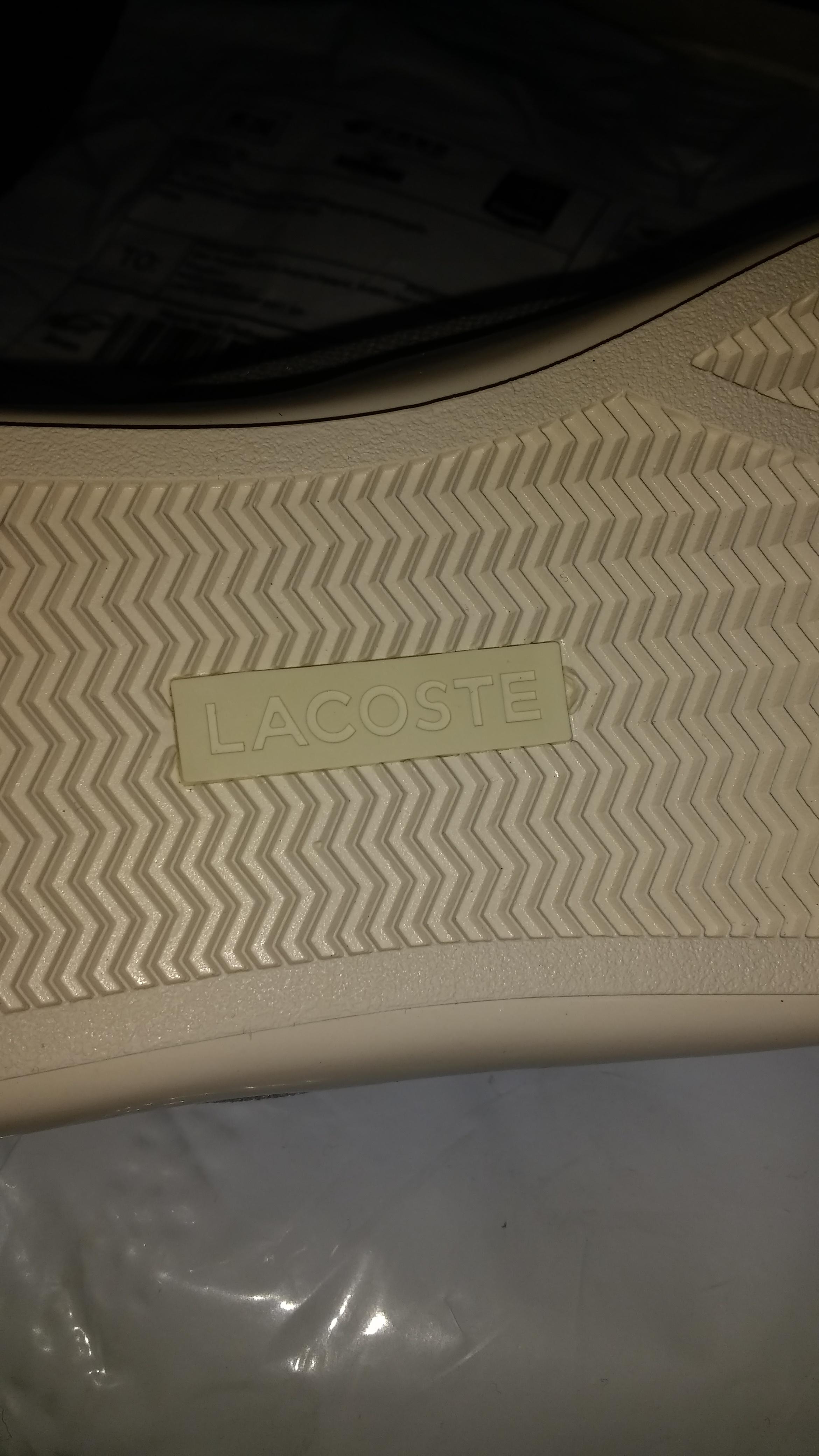1da0bf004a56 Fake Lacoste shoes