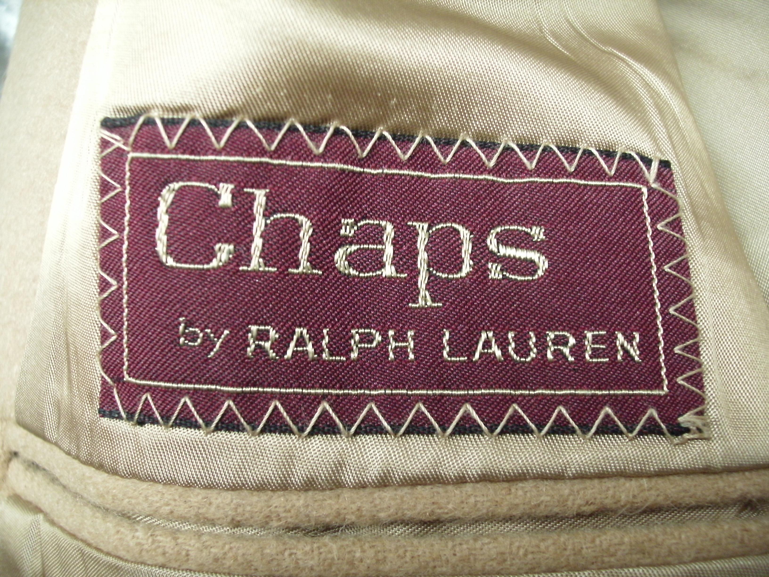 Chaps Camel Hair (7).JPG