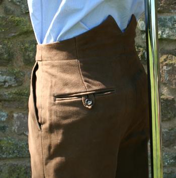 Split Waist Brand Center Back For Trousers